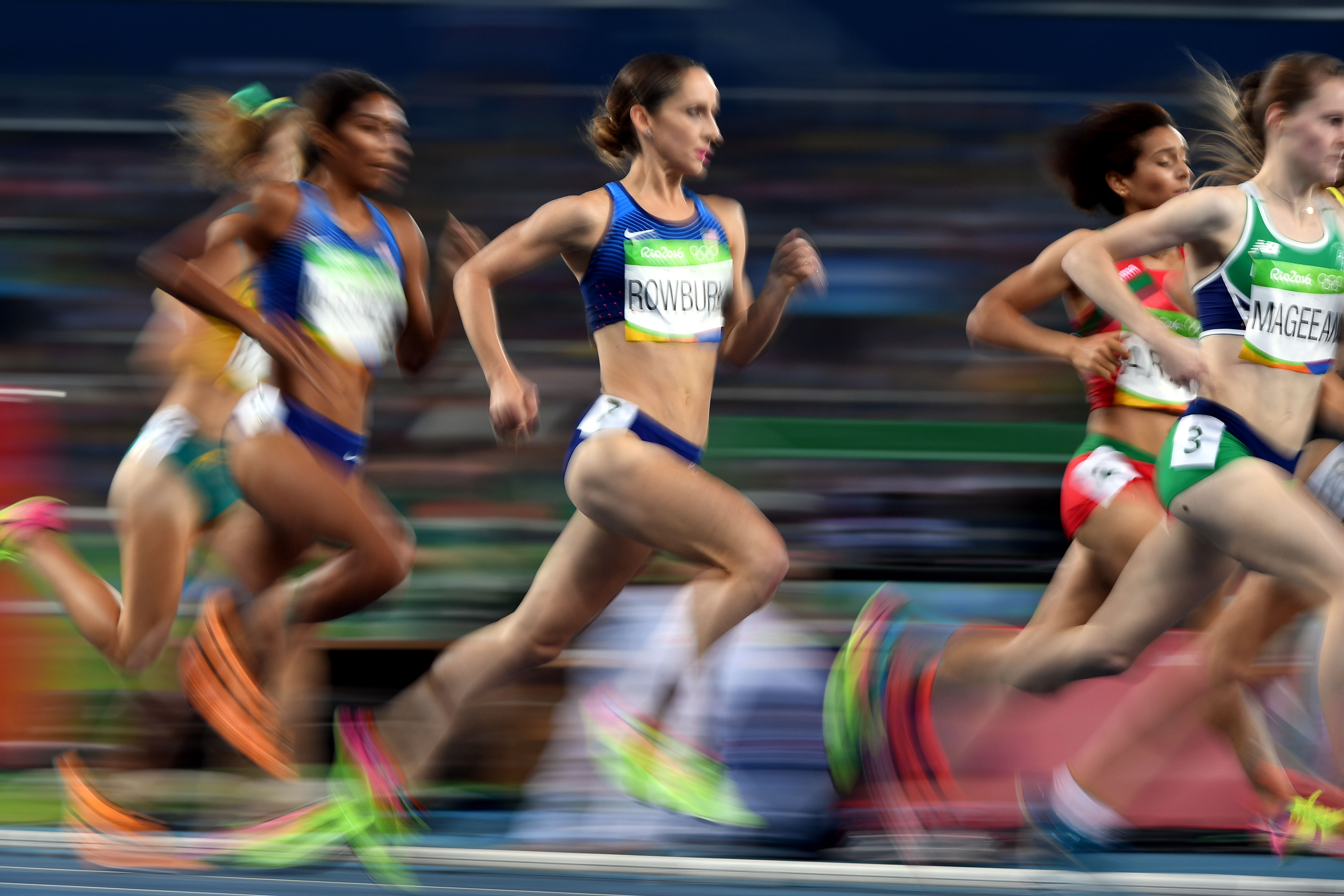 Shannon Rowbury of Team USA is in the women's 1500m final for the third straight Olympics.