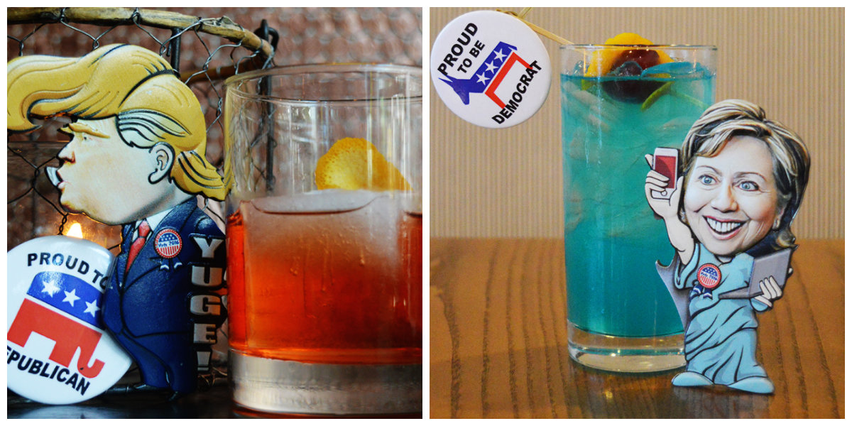 Lincoln and Teddy's & The Bully Bar are getting in the election spirit with spirits