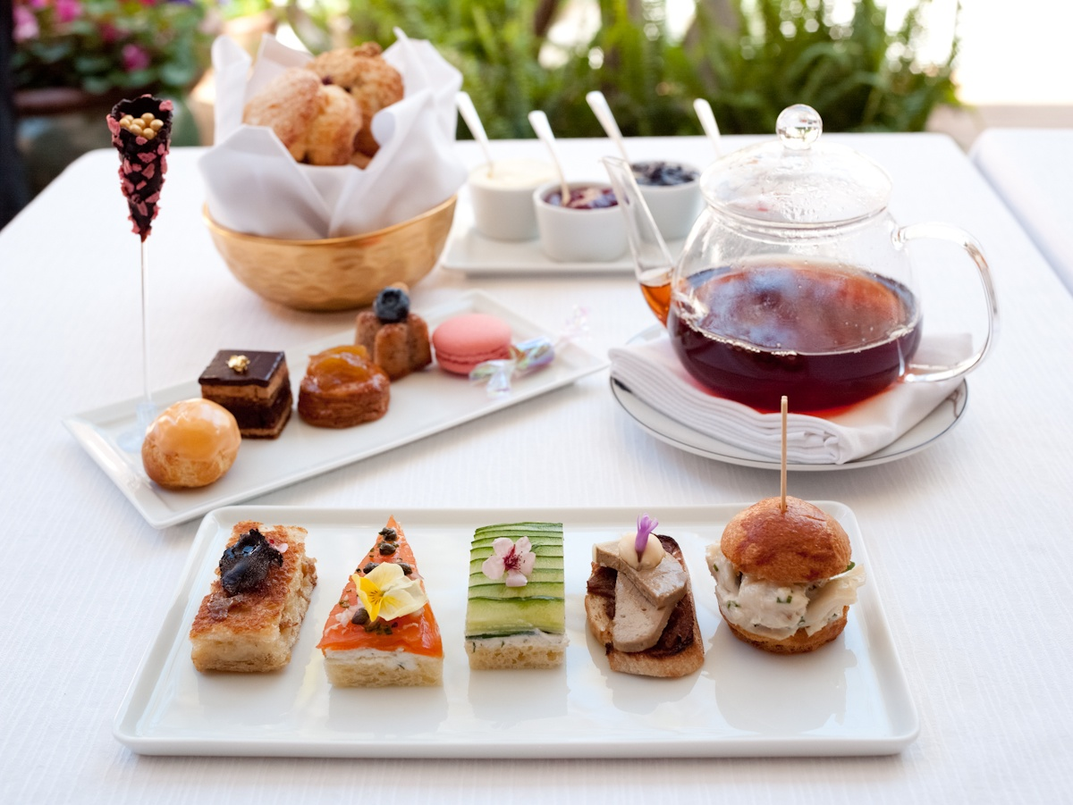 Afternoon Tea at The Hotel Bel-Air