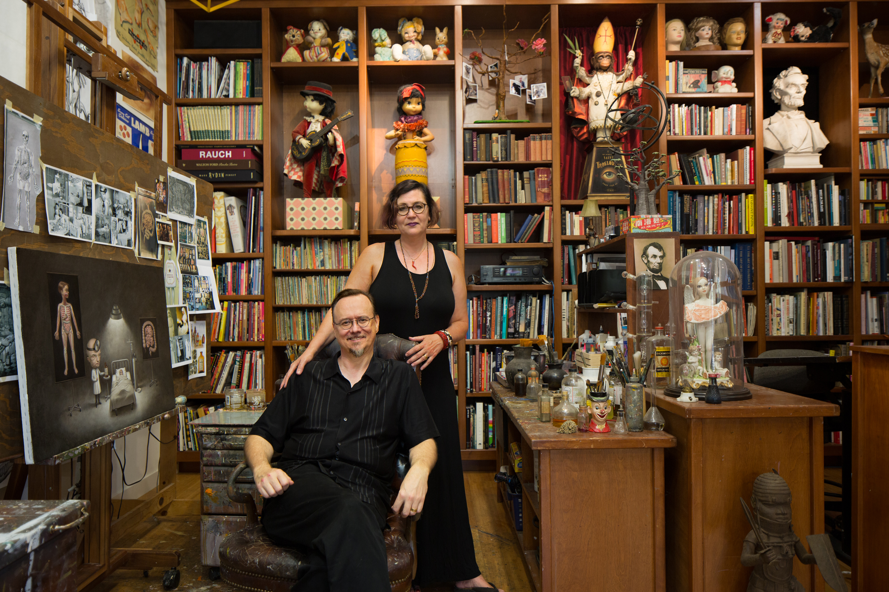 Mark Ryden and Marion Peck