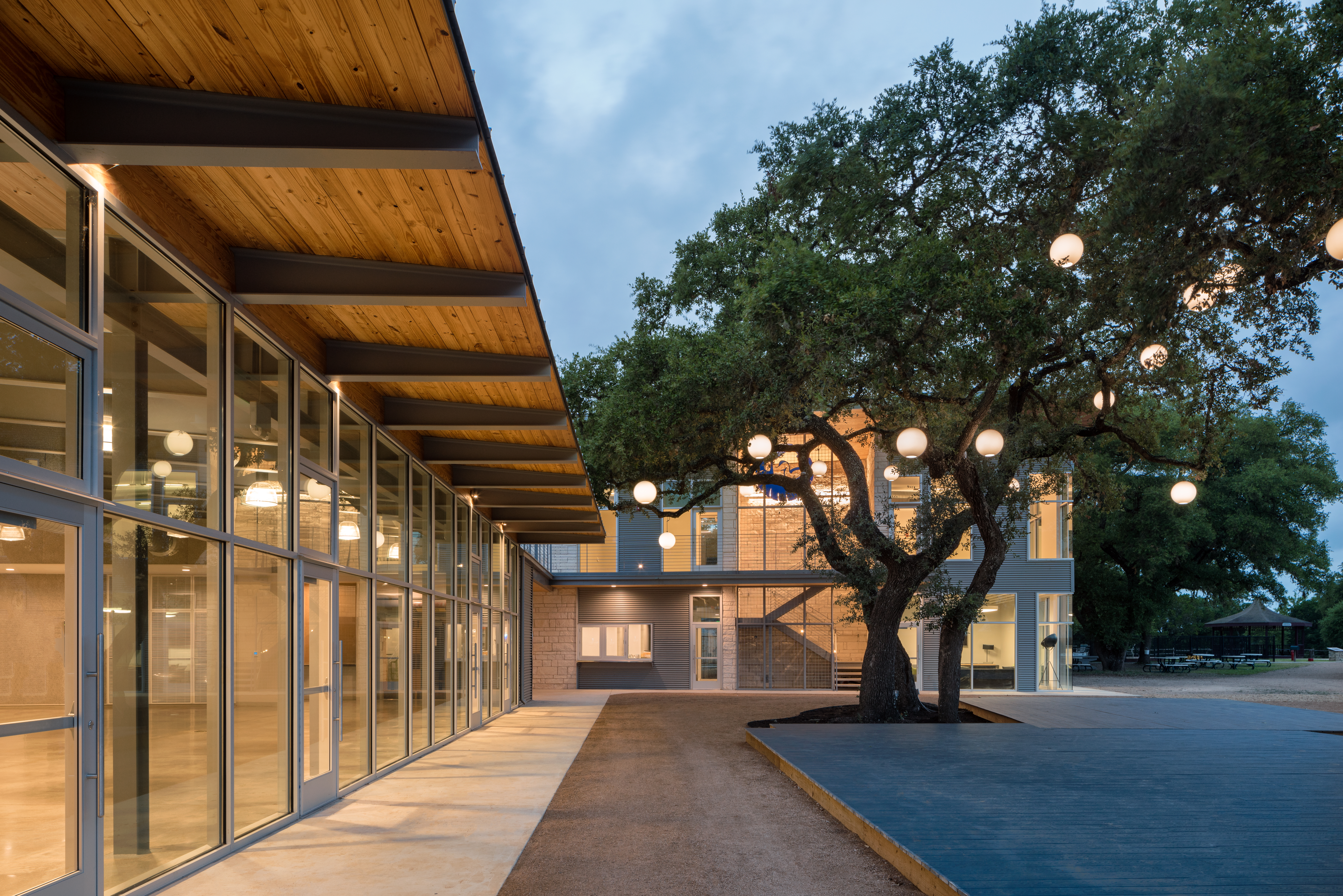 Tour the green building an Austin architect designed for a Wimberley summer camp