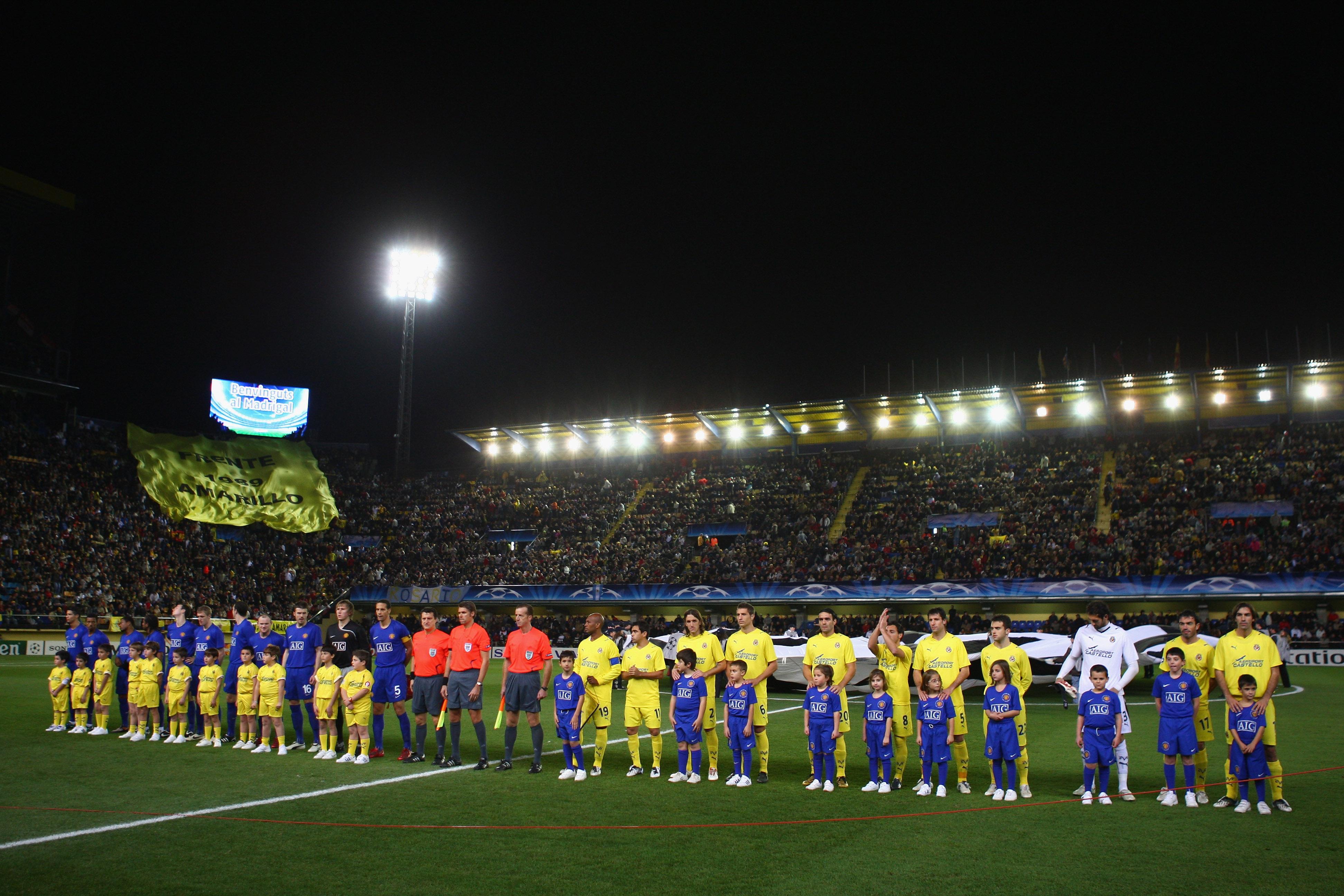 Villarreal v Manchester United - UEFA Champions League
