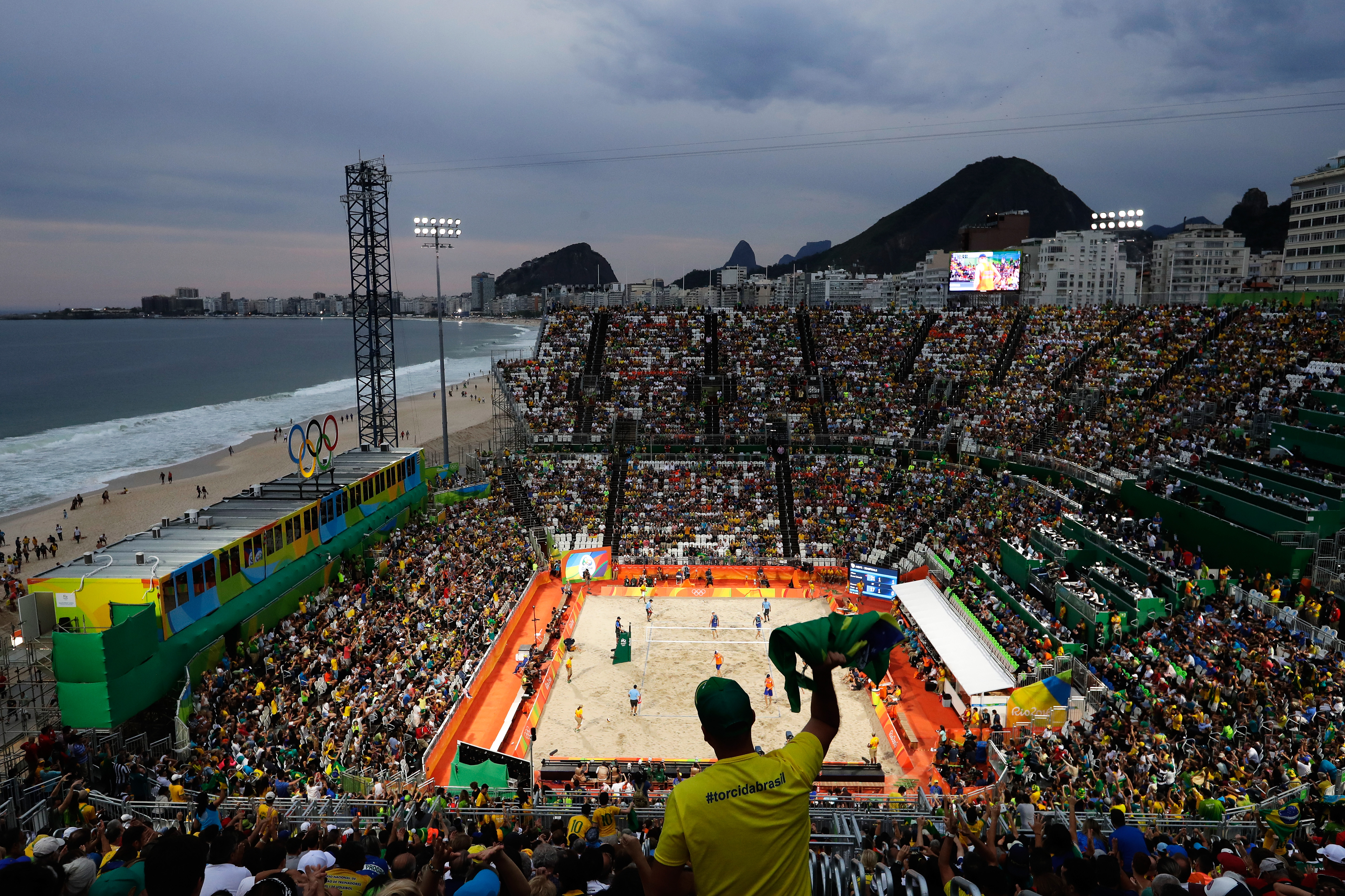 Beach Volleyball - Olympics: Day 11