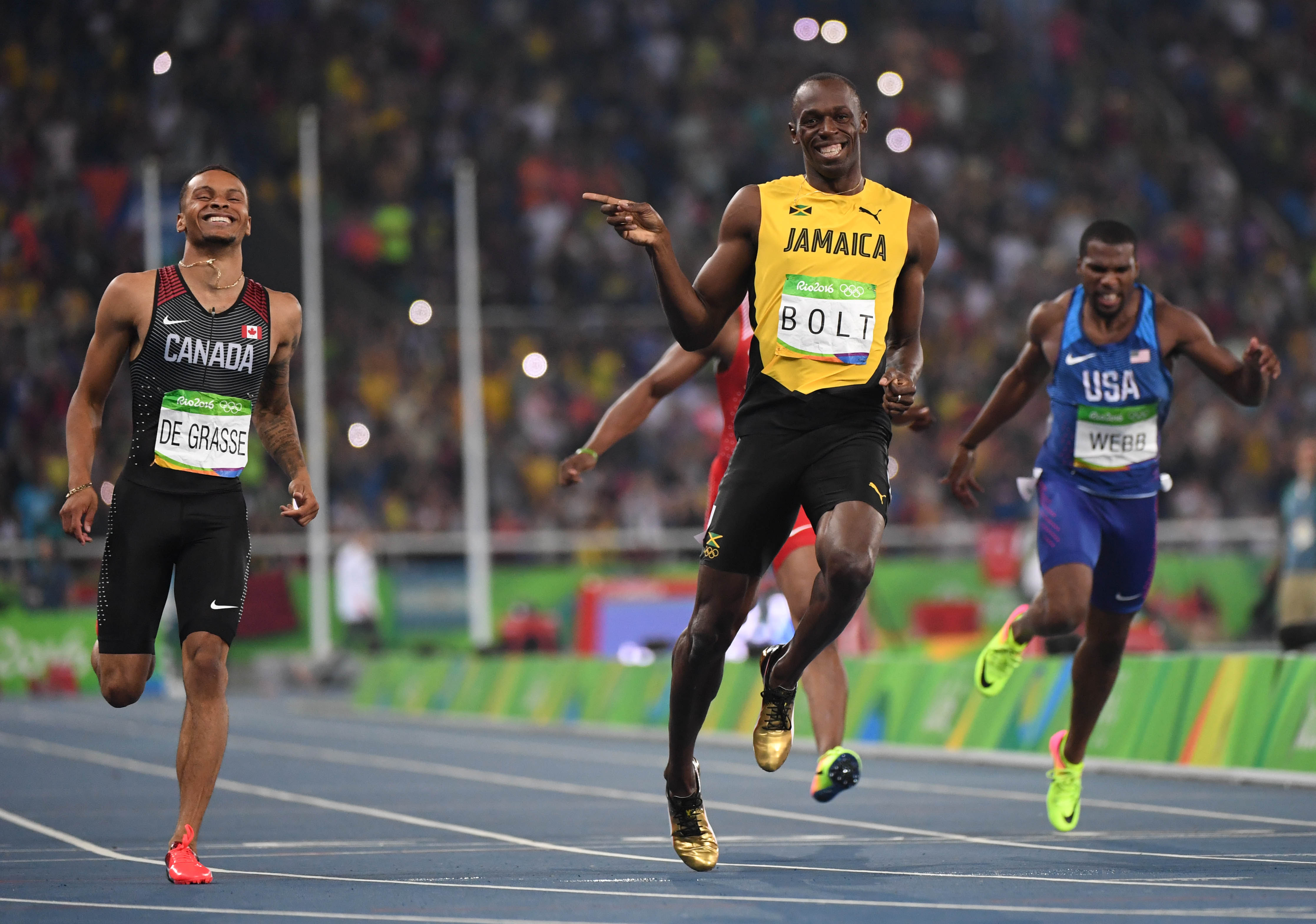 Tonight is the last individual Olympic race for Usain Bolt.
