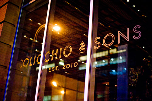 Colicchio and Sons sign