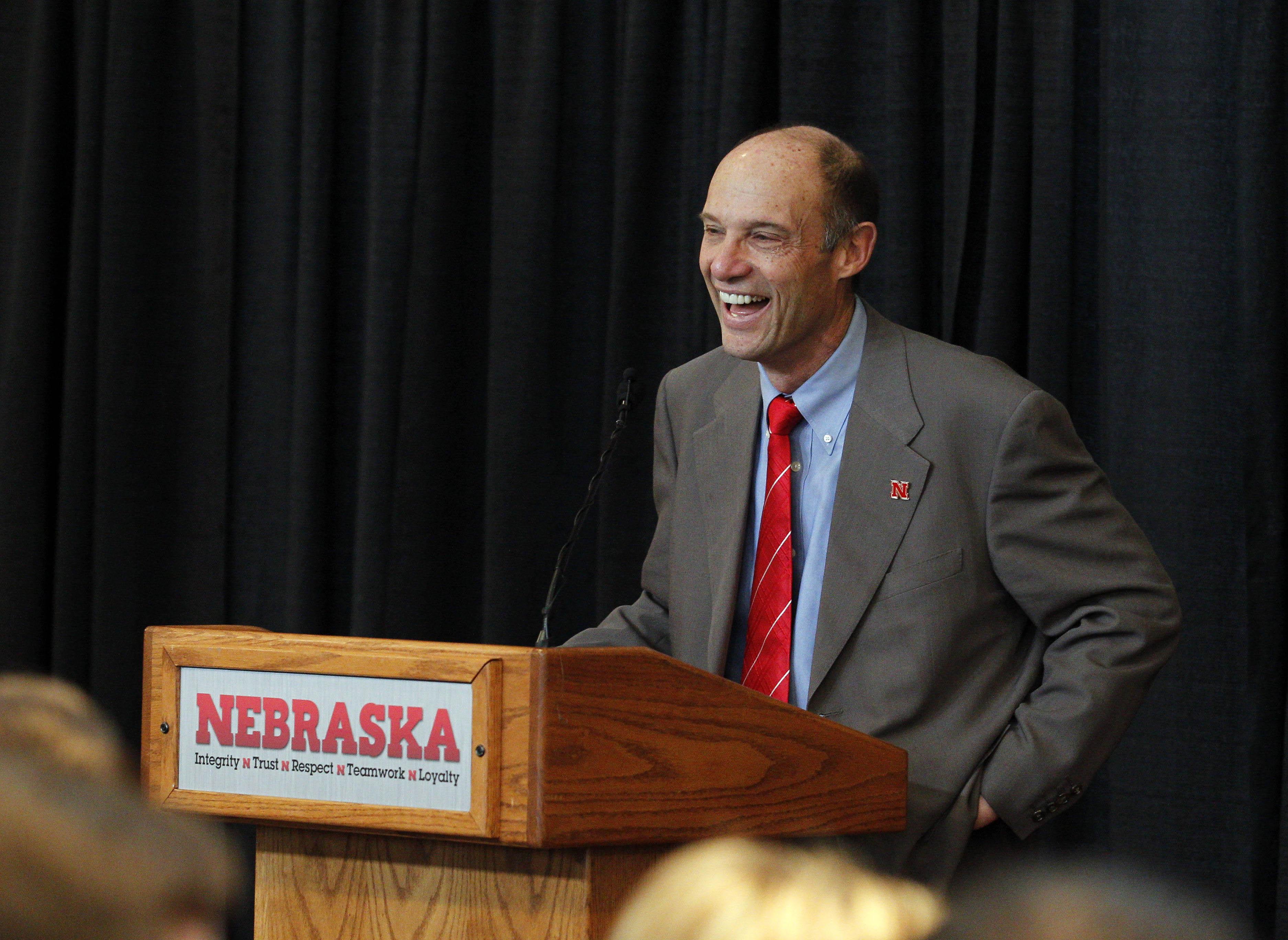 NCAA Football: Nebraska-Press Conference