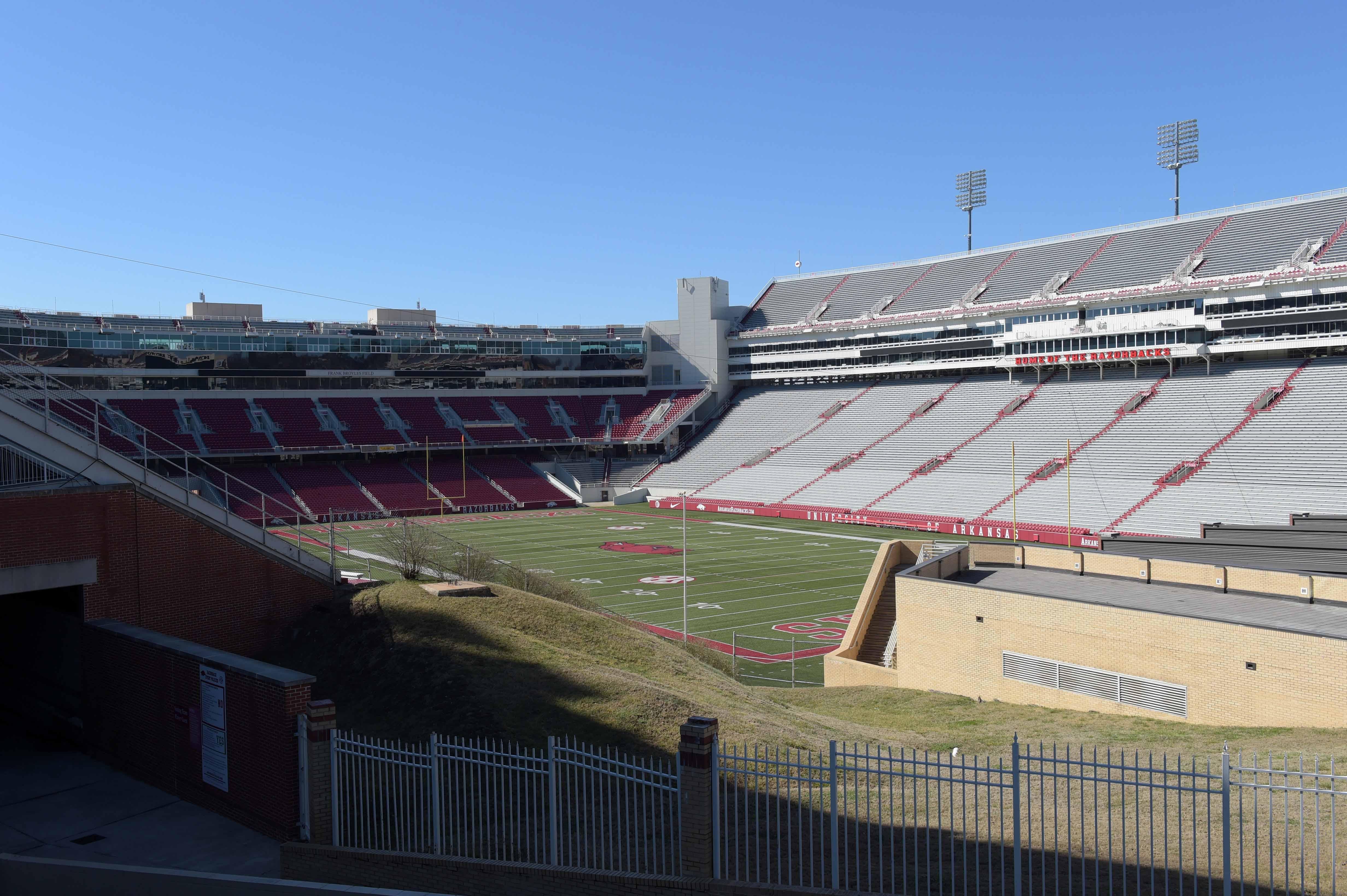 Track and Field: University of Arkansas Views