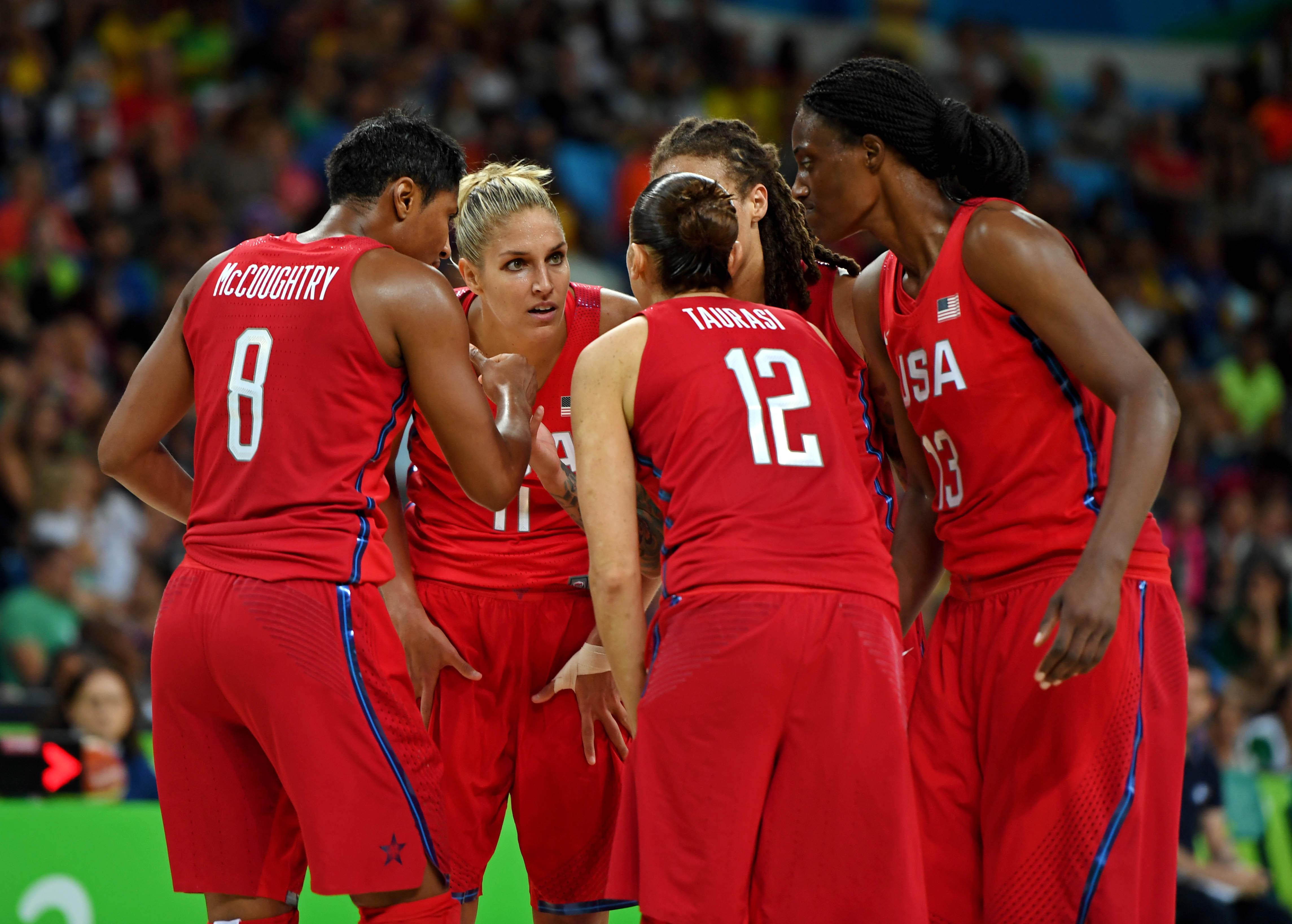 Olympics: Basketball-Women's Team-Semifinal -FRA vs USA