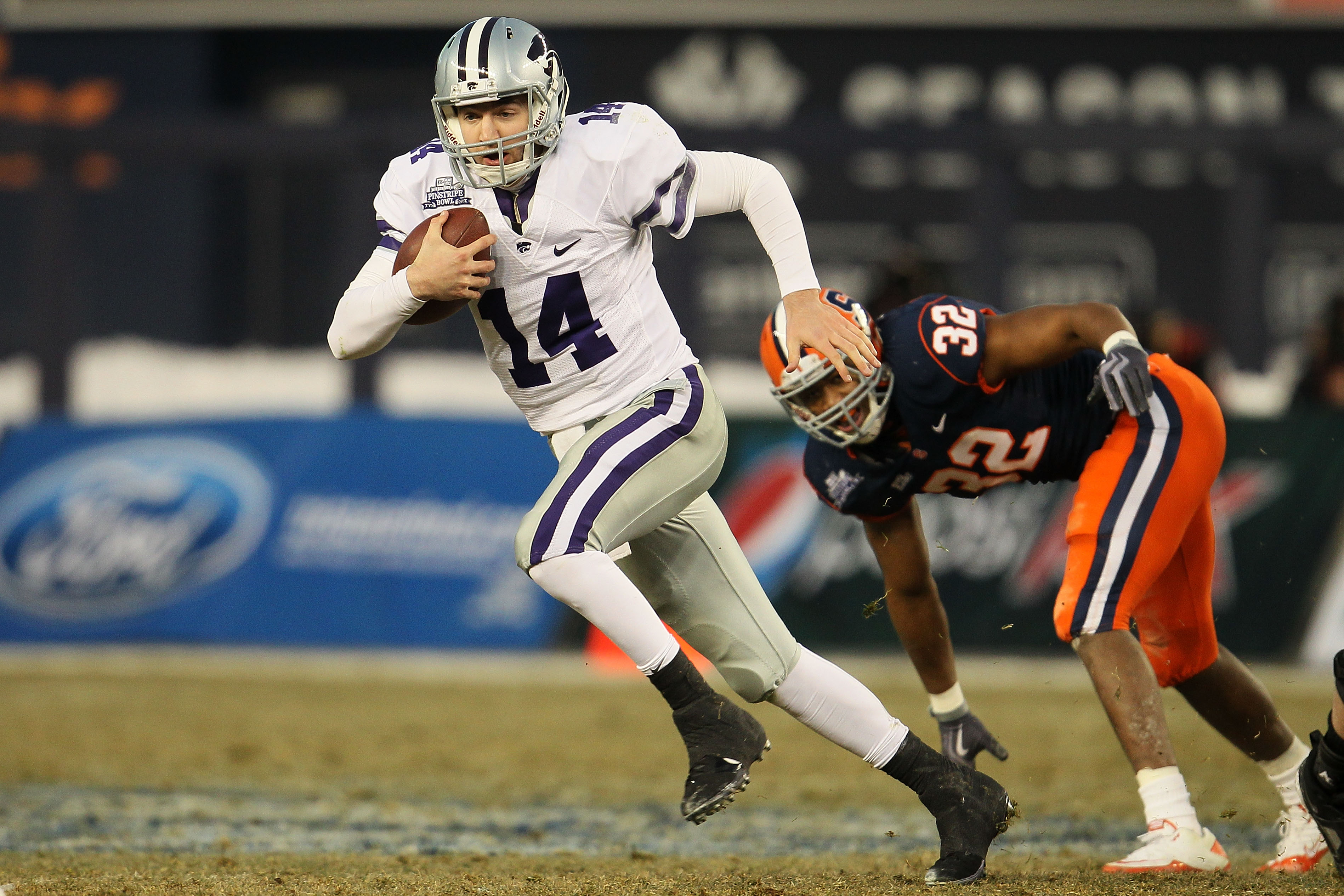"""Though they both wear No. 14, make no mistake: Hunter Hall probably is more athletic than Carson """"Crazy Legs"""" Coffman"""