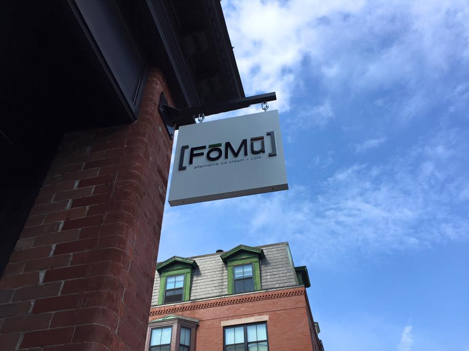 FoMu South End signage