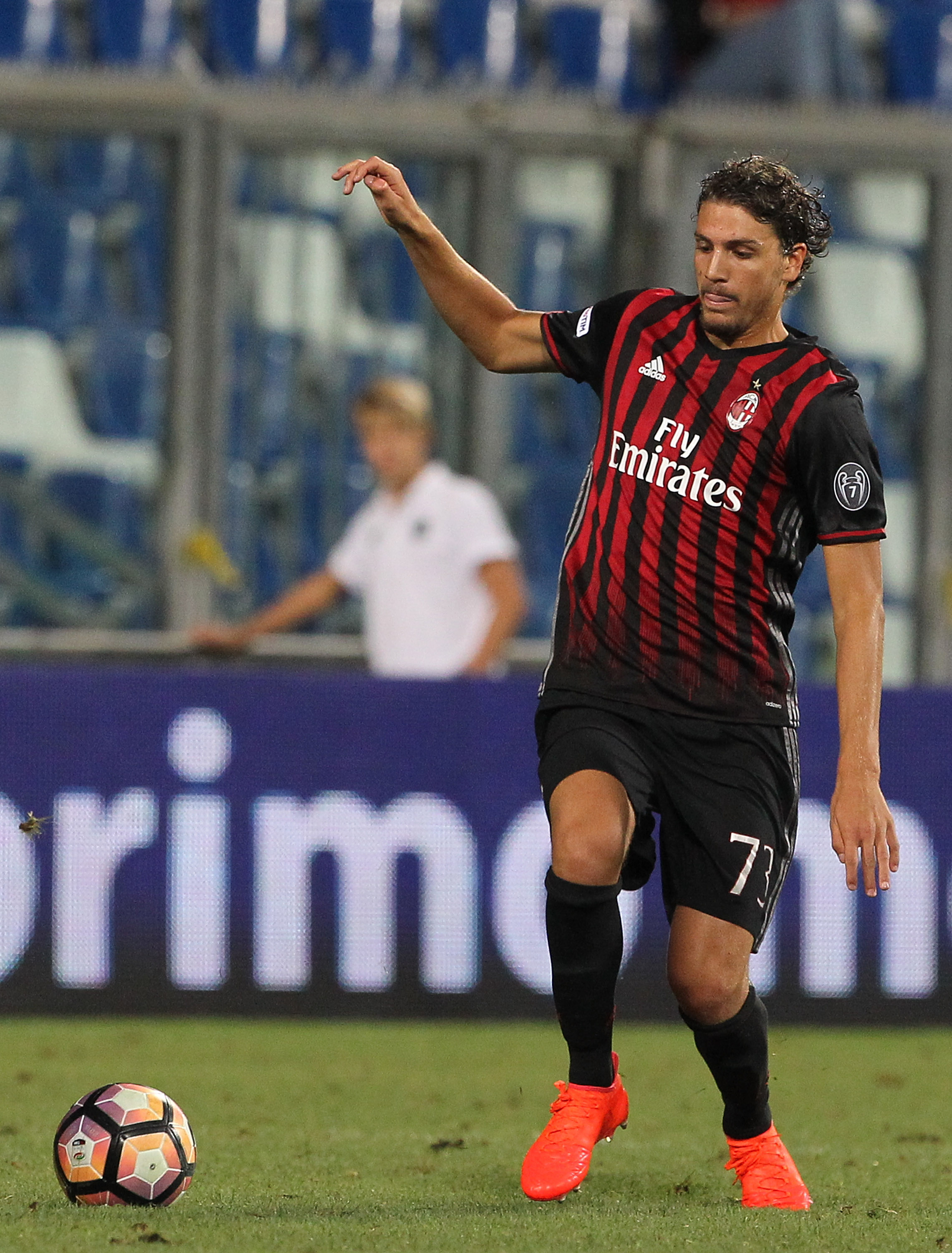 18 year old Manuel Locatelli made his debut at the end of last season