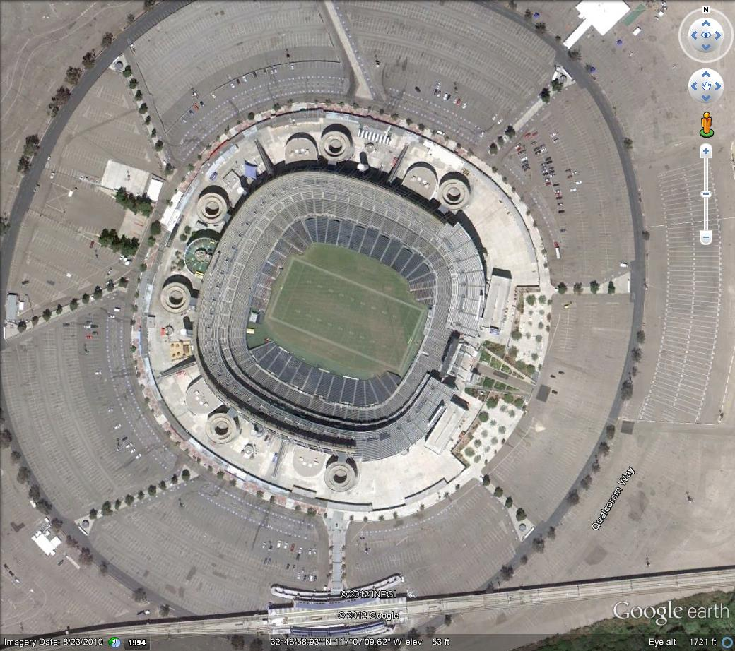 San Diego Chargers Arena: Bolts From The Blue