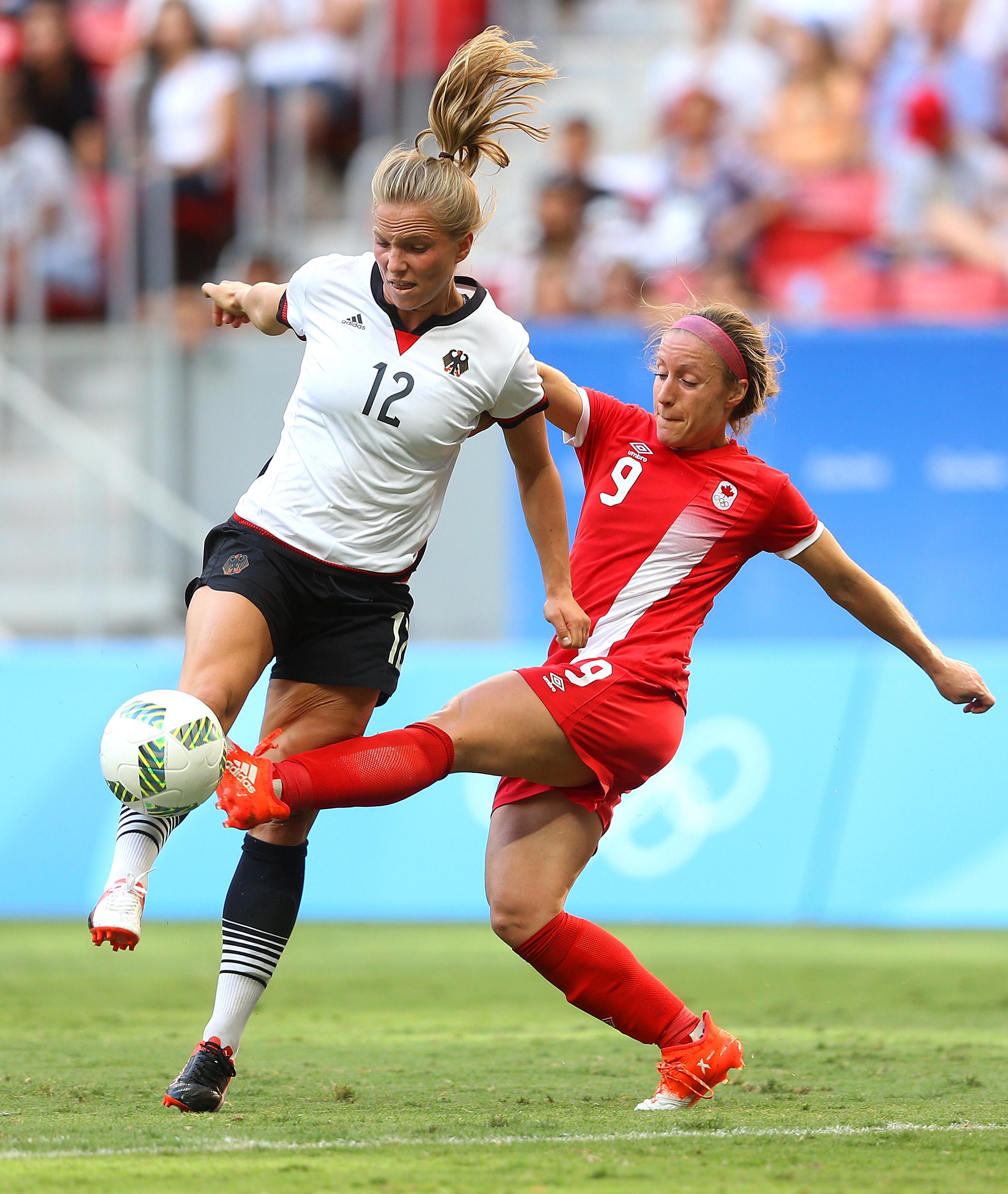 Germany v Canada: Women's Football - Olympics: Day 4