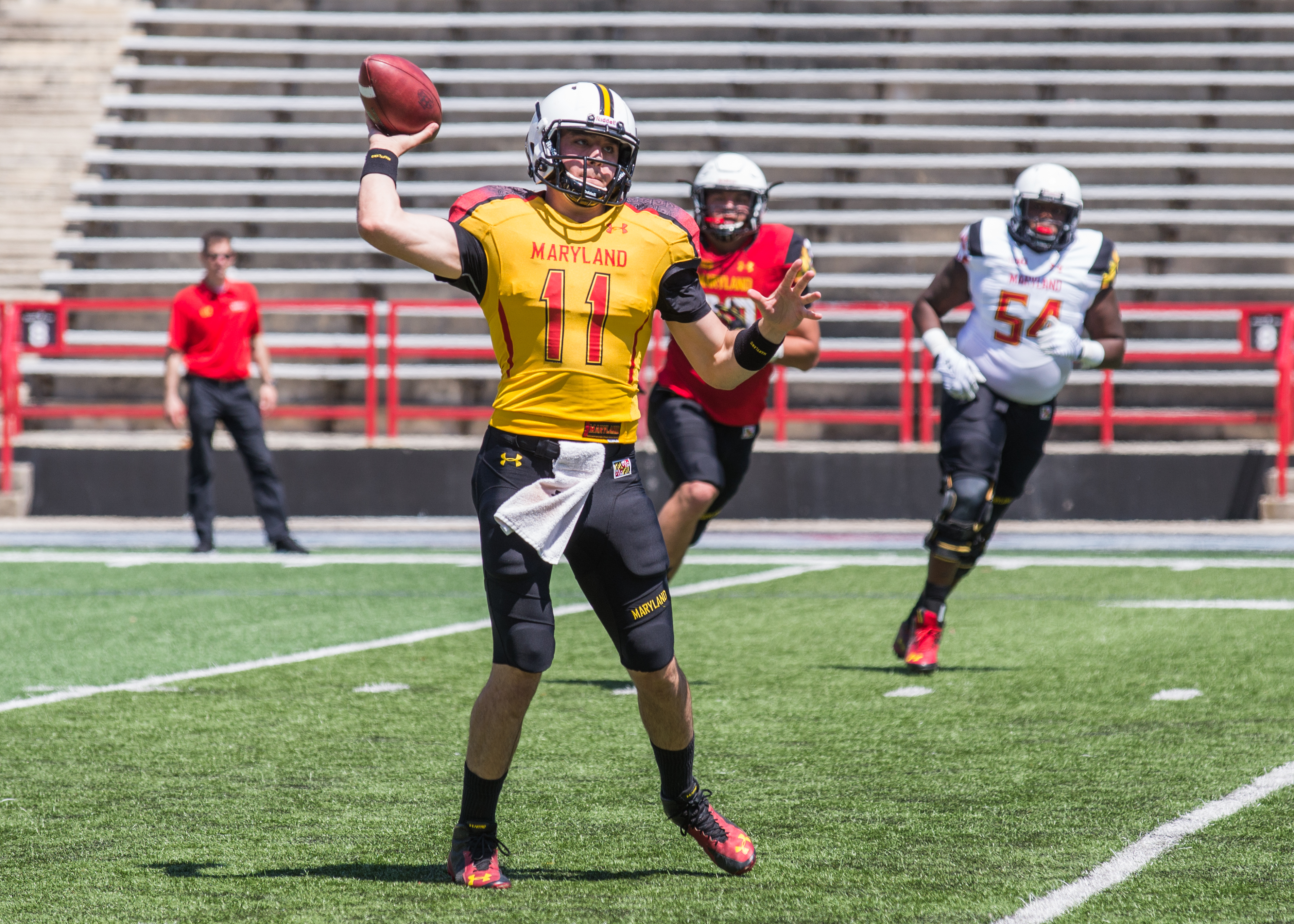 maryland football spring game practice