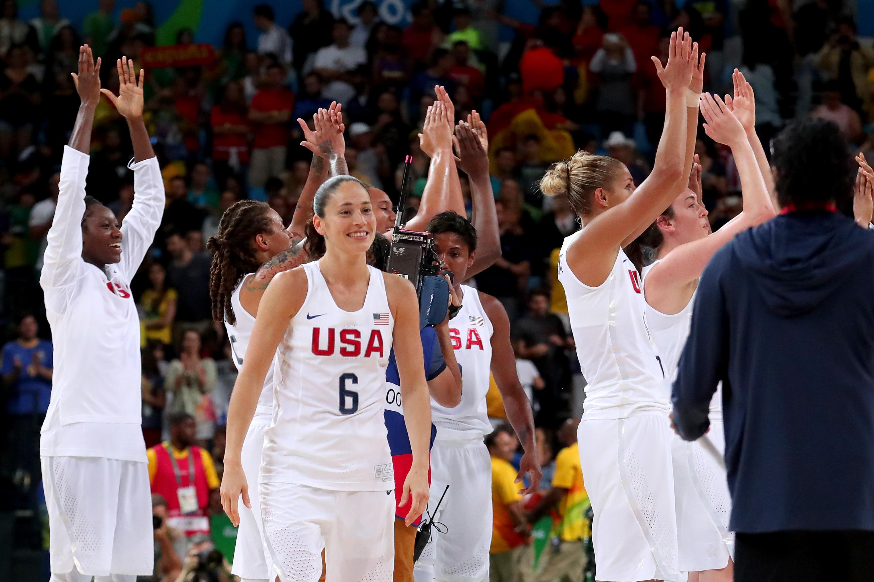 Basketball - Olympics: Team USA, Gold