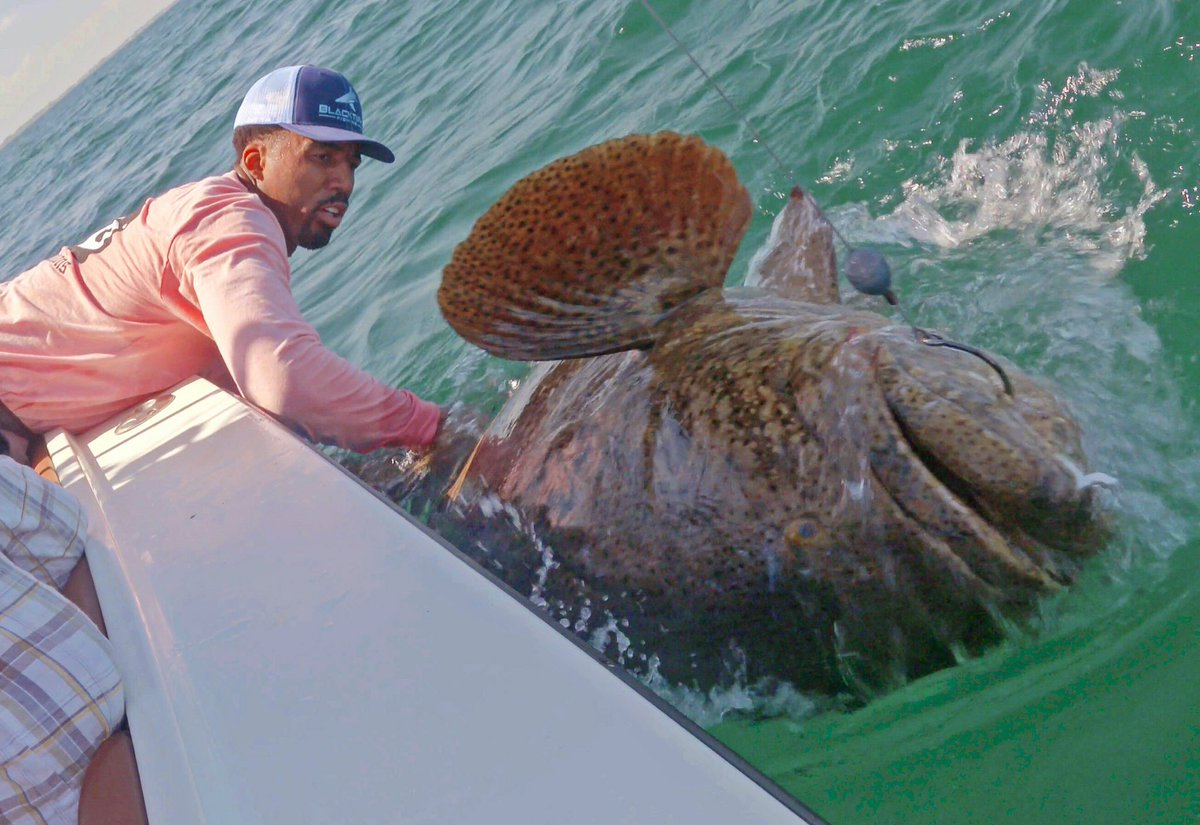 The Nuggets' Wilson Chandler caught a fish the size of your couch