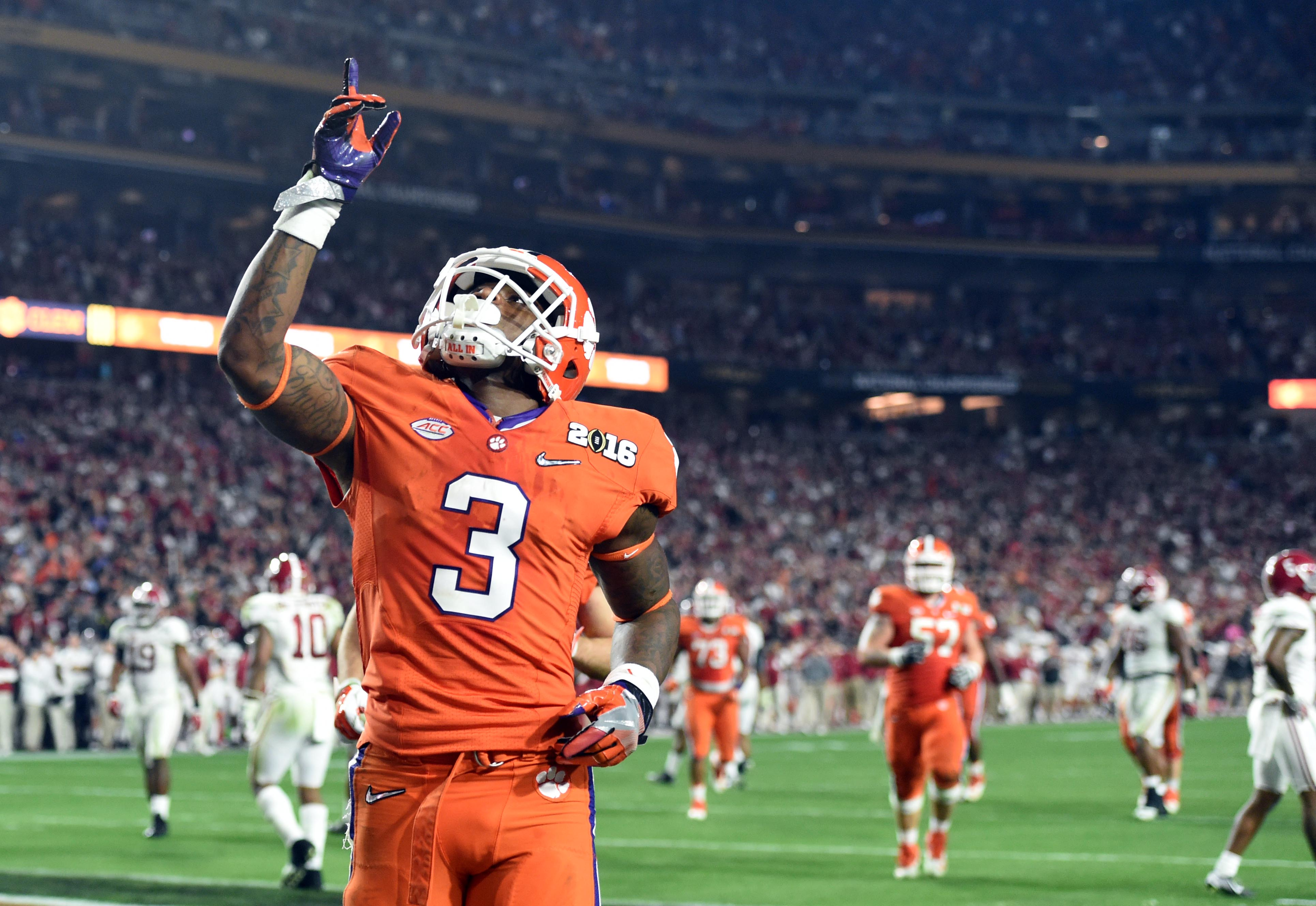Artavis Scott should once again play a large role in the Clemson return game.
