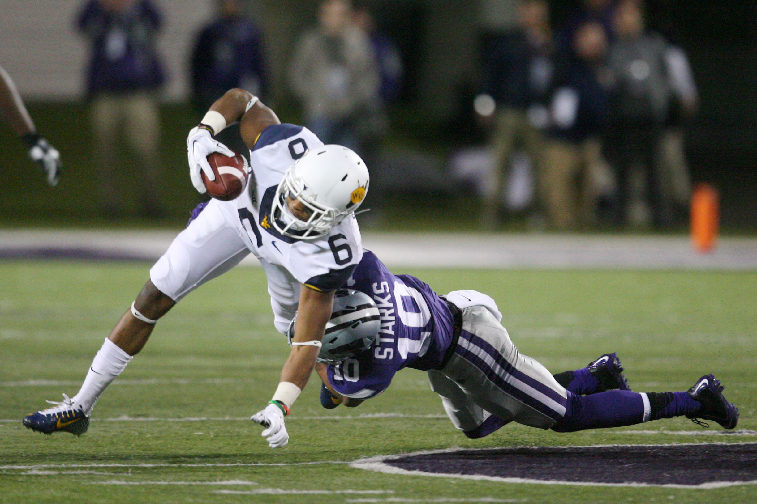 Donnie Starks was part of the reason for a small K-State defensive turnaround late last season. Now it's time for his curtain call.