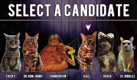 Cat President is just your typical government-filled feline dating sim