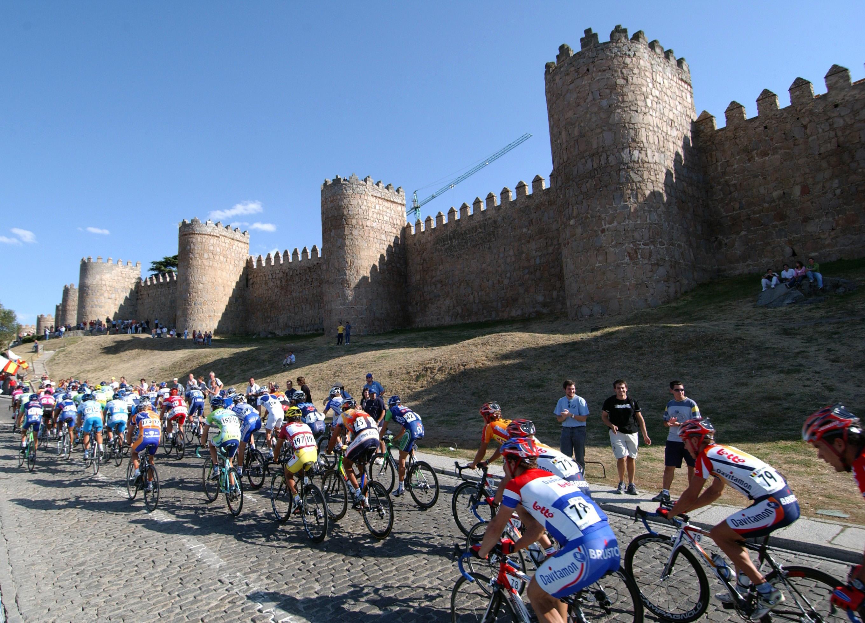 Avila Spain Vuelta scenery