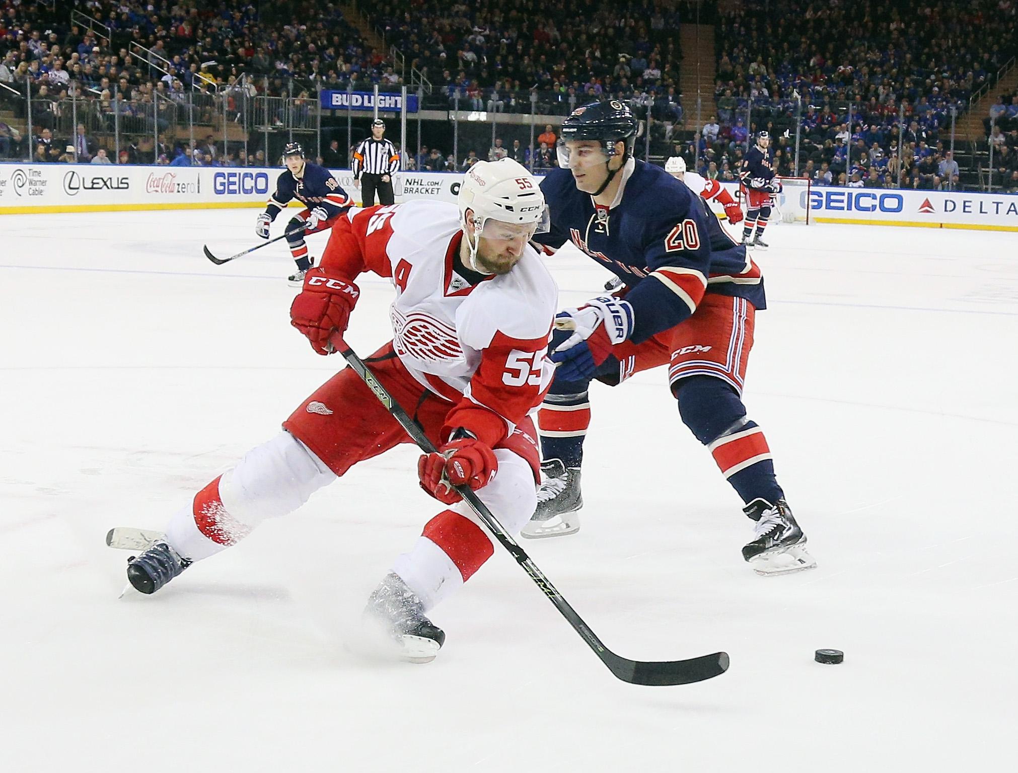 Detroit Red Wings v New York Rangers