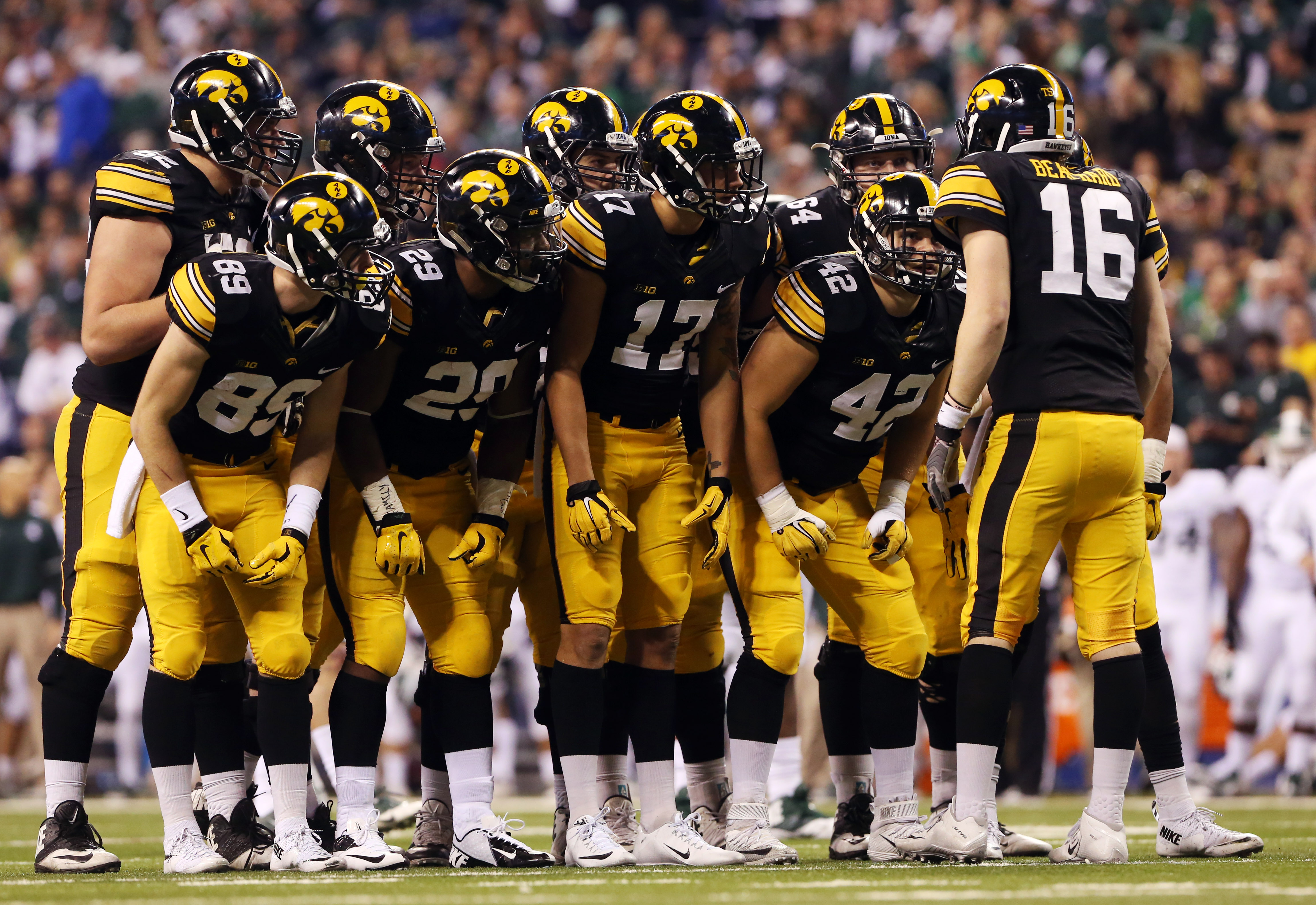 NCAA Football: Big Ten Championship-Iowa vs Michigan State