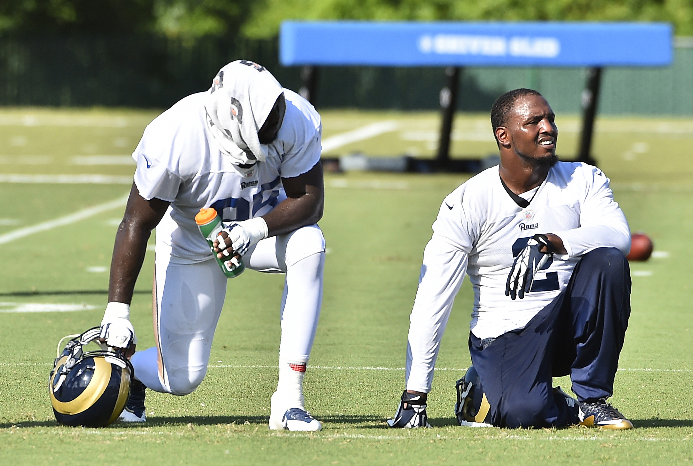 Los Angeles Rams DEs William Hayes and Robert Quinn