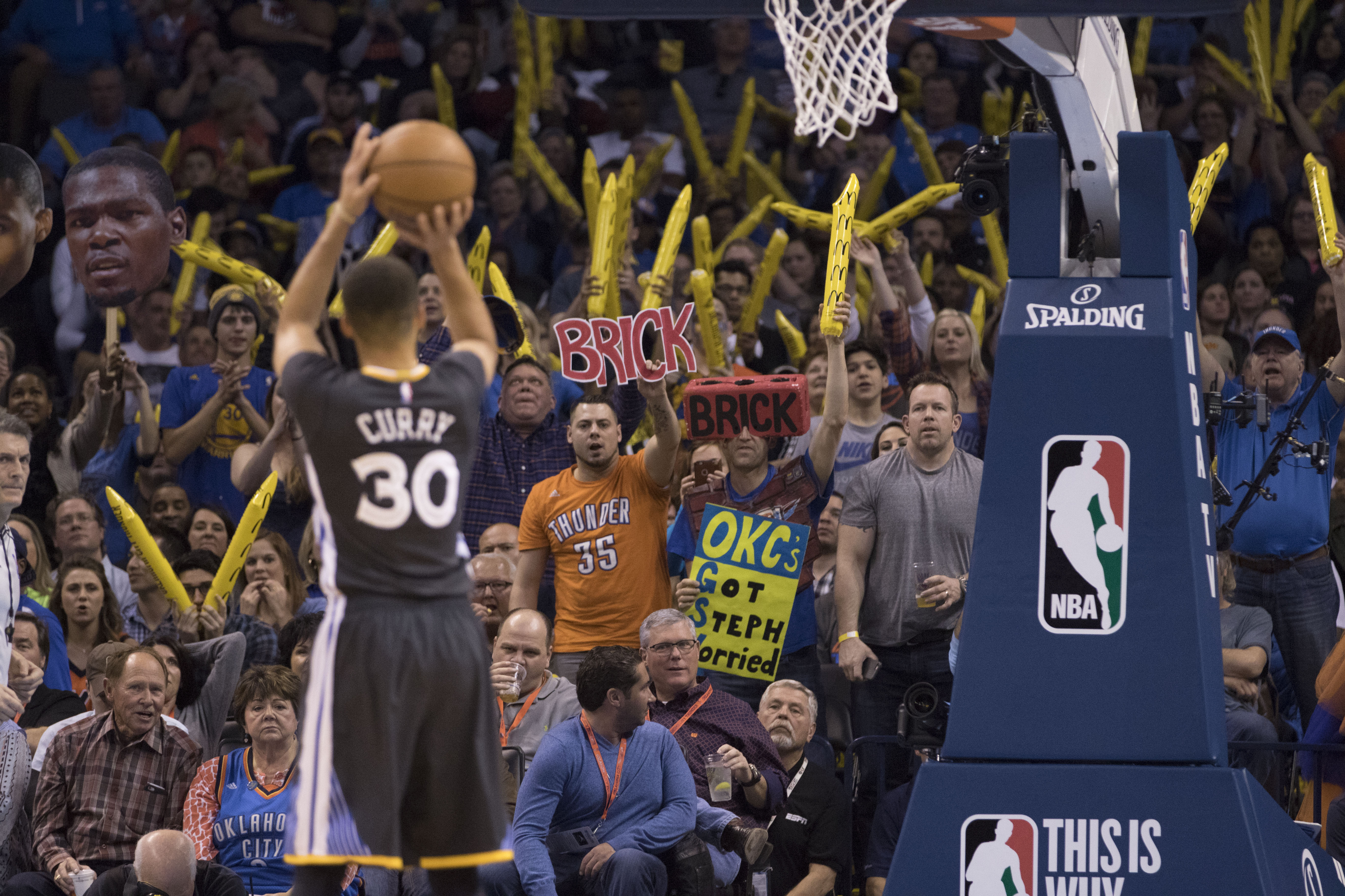 Golden State Warriors v Oklahoma City Thunder