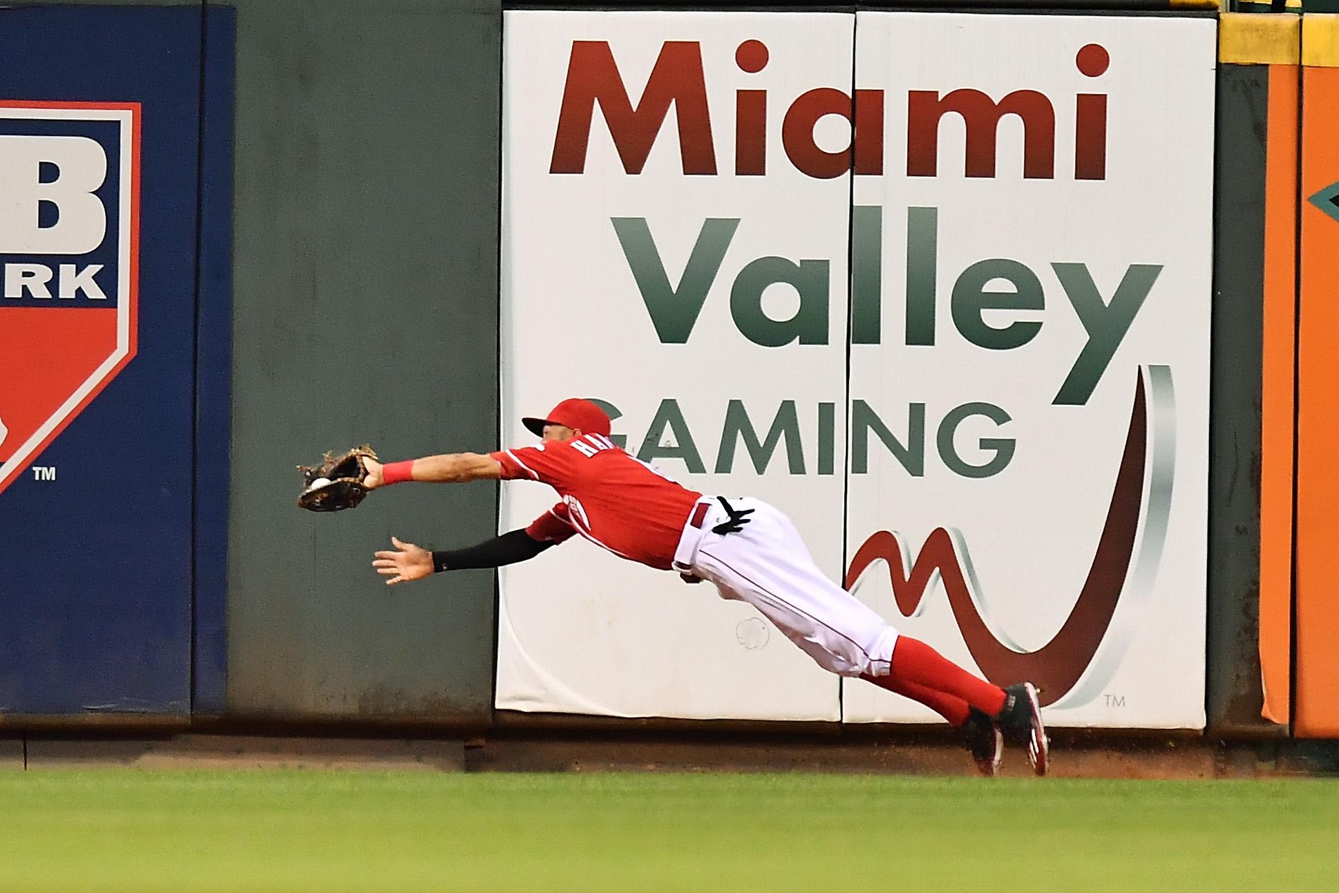 Billy Hamilton can fly, man