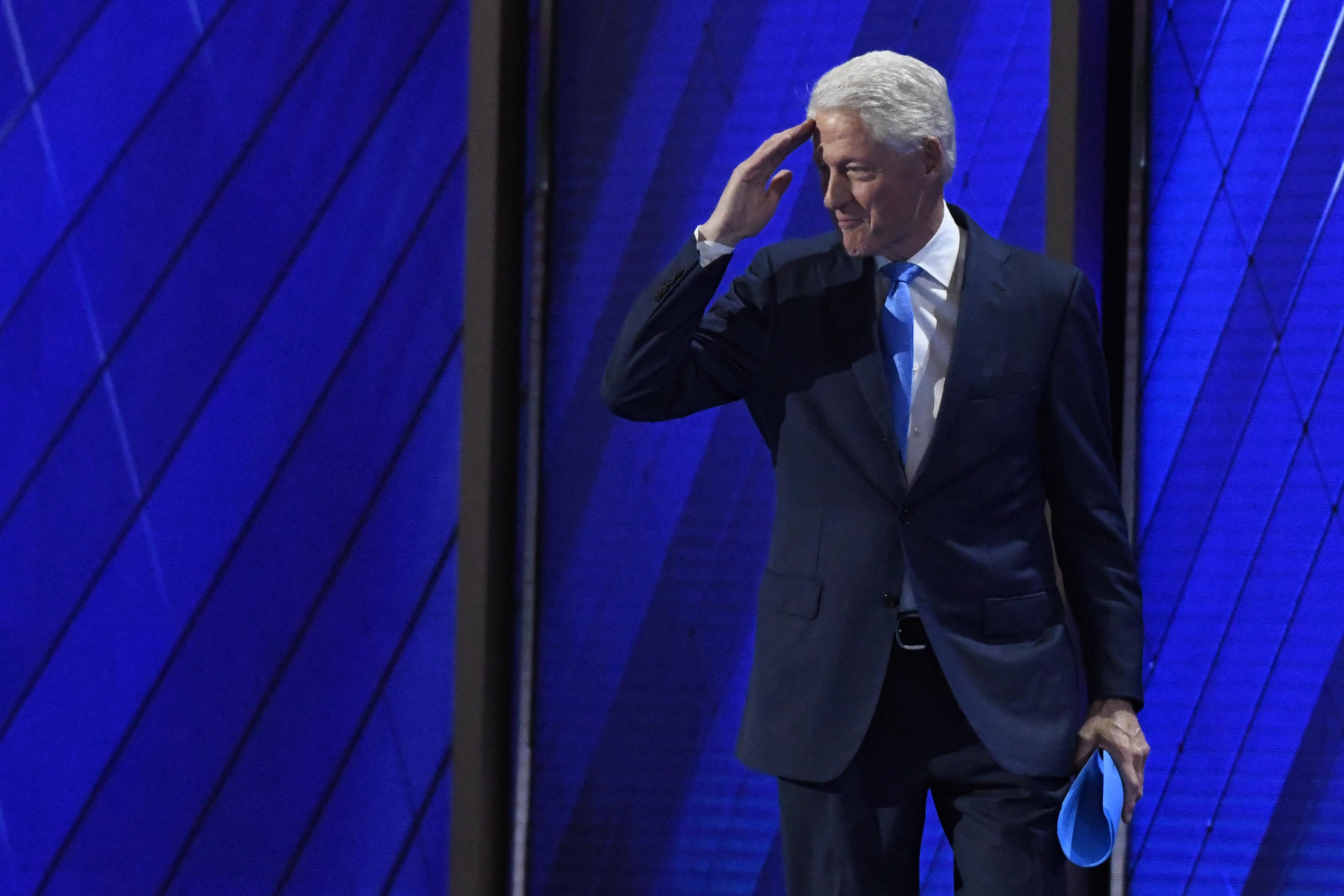 President Bill Clinton.