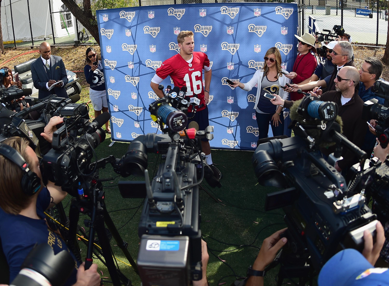 Los Angeles Rams QB Jared Goff