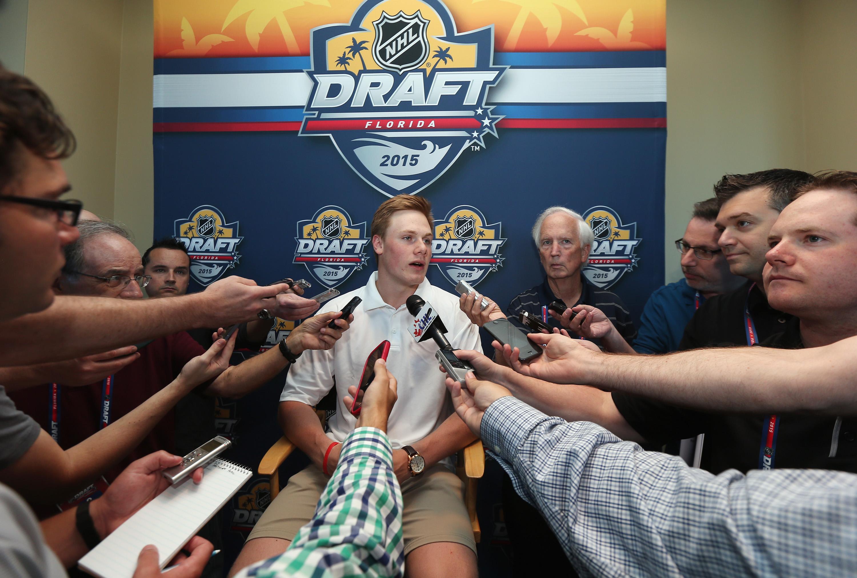 2015 NHL Draft - Top Prospects Media Availability