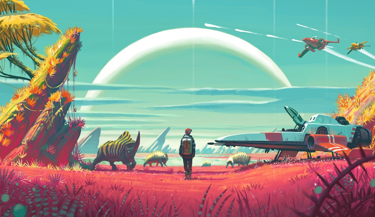 No Man's Sky is an existential crisis simulator disguised as a space exploration game
