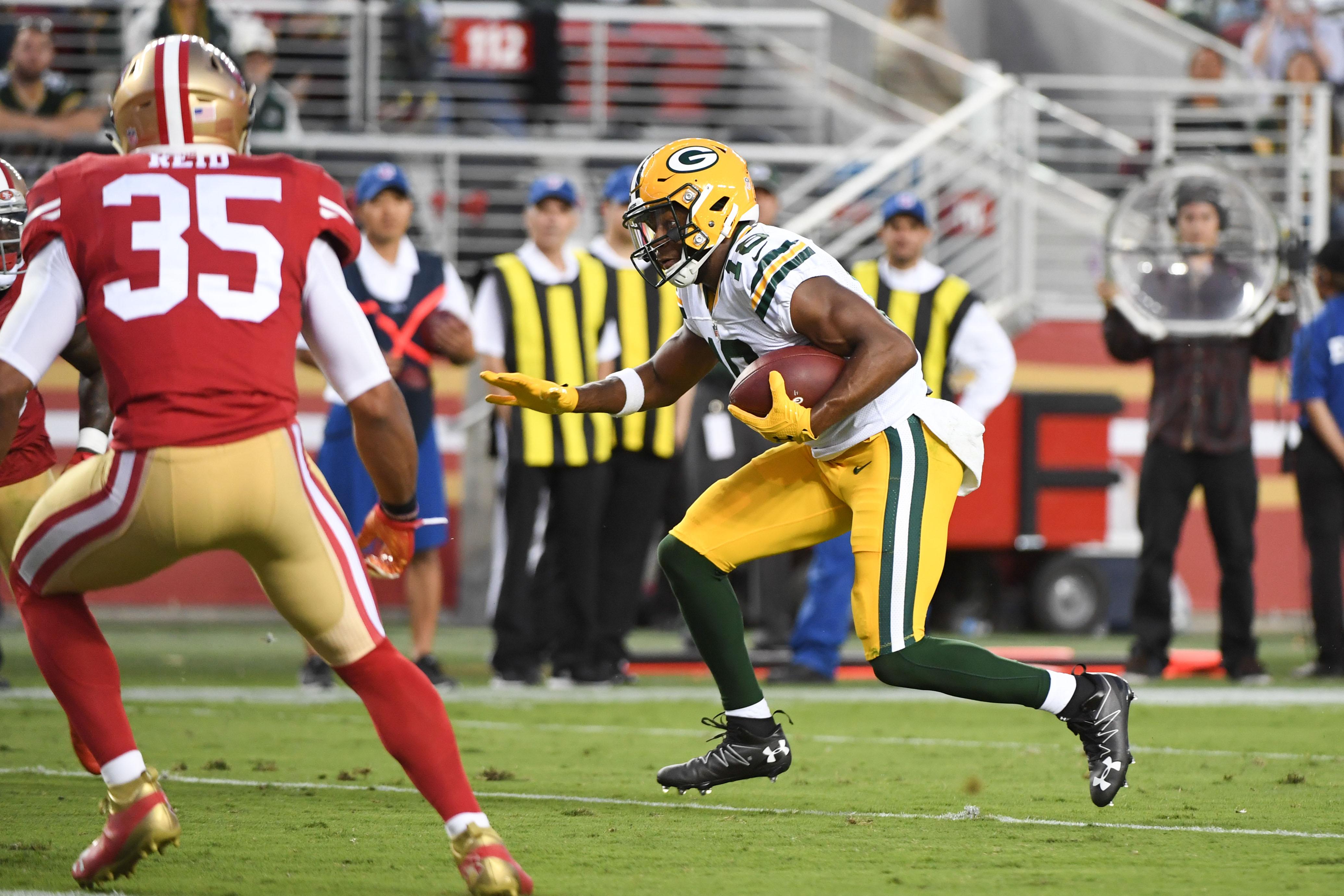 NFL: Preaseason-Green Bay Packers at San Francisco 49ers