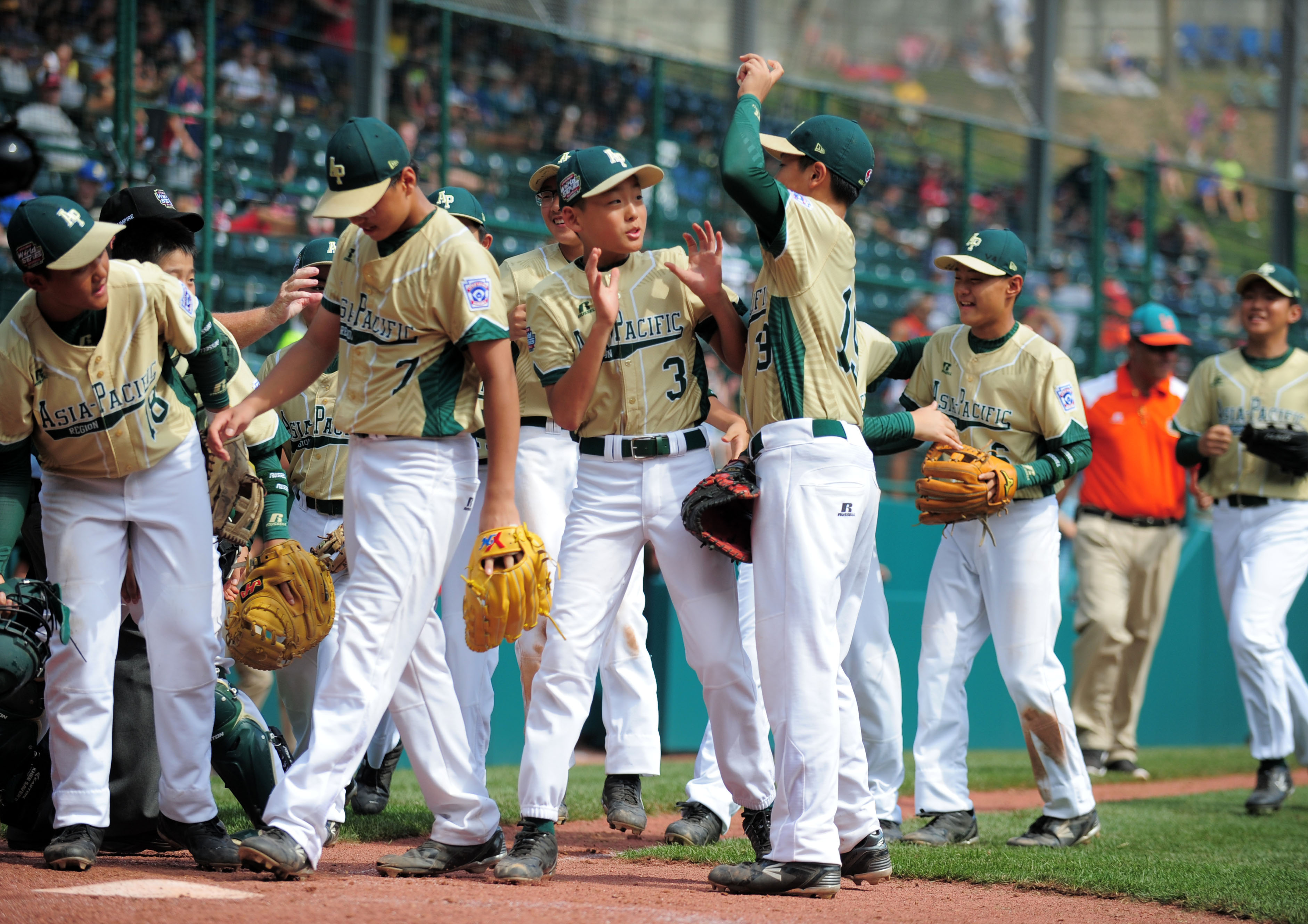 Baseball: Little League World Series-Asia-Pacific Region vs Latin America Region