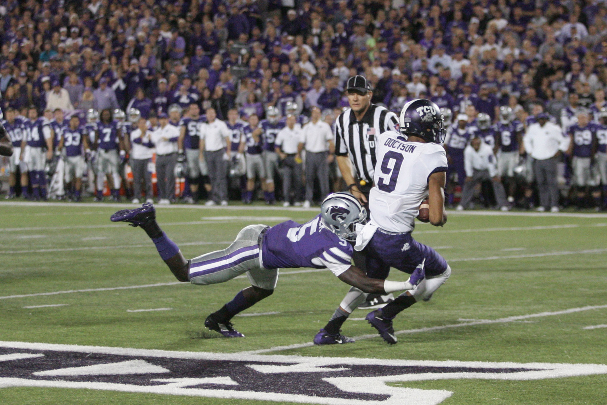 Anyone who can catch Josh Doctson in the open field has to be at least a decent player. The mystery is why Jesse Mack didn't play more in a decimated defensive backfield in 2015.