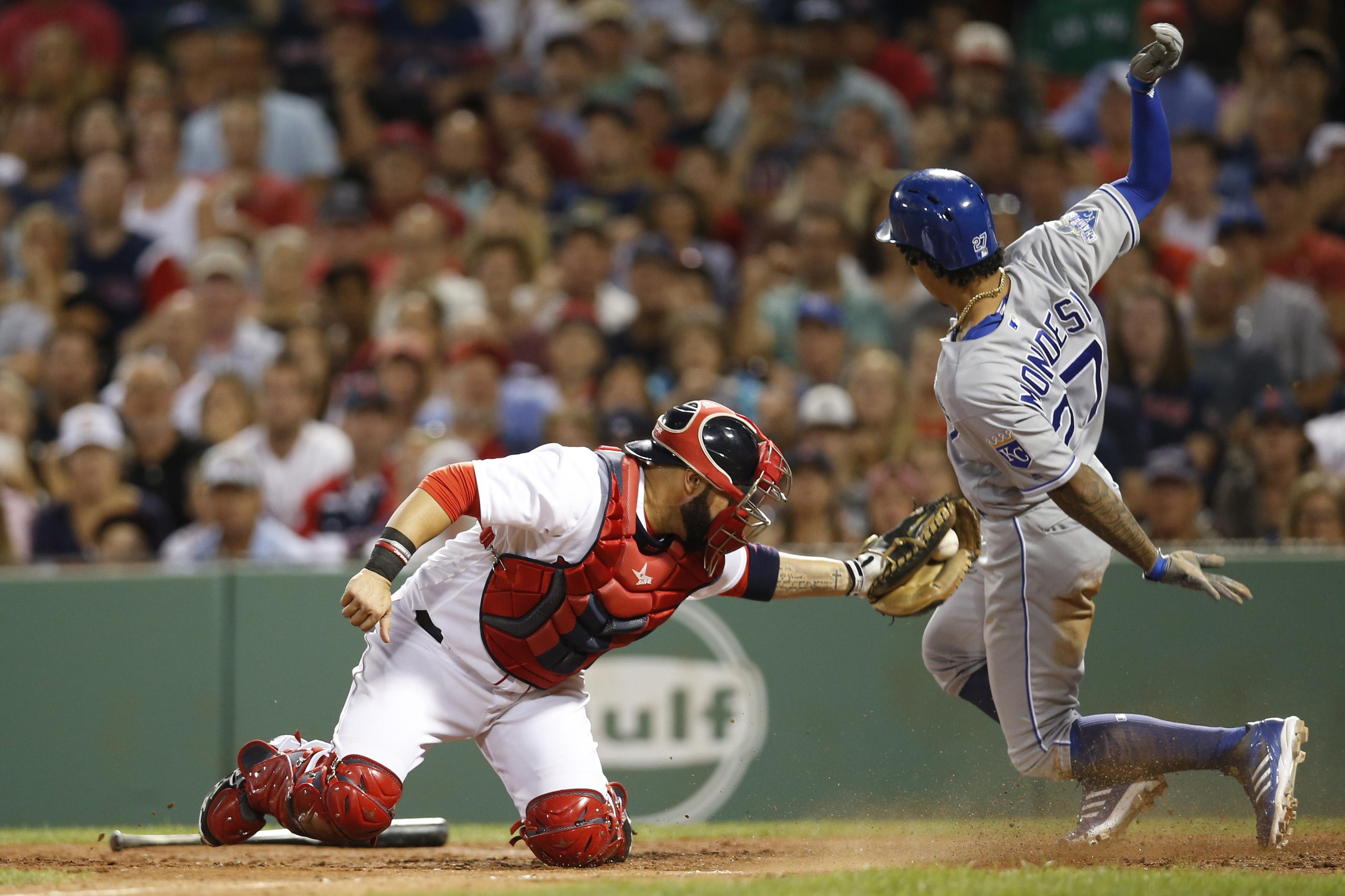 MLB: Kansas City Royals at Boston Red Sox