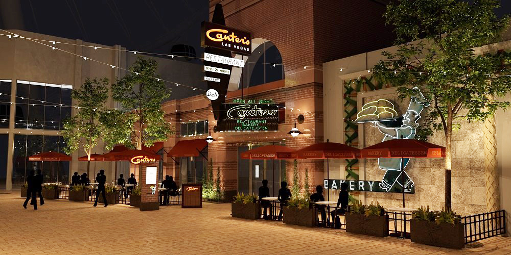 Canter's Las Vegas rendering
