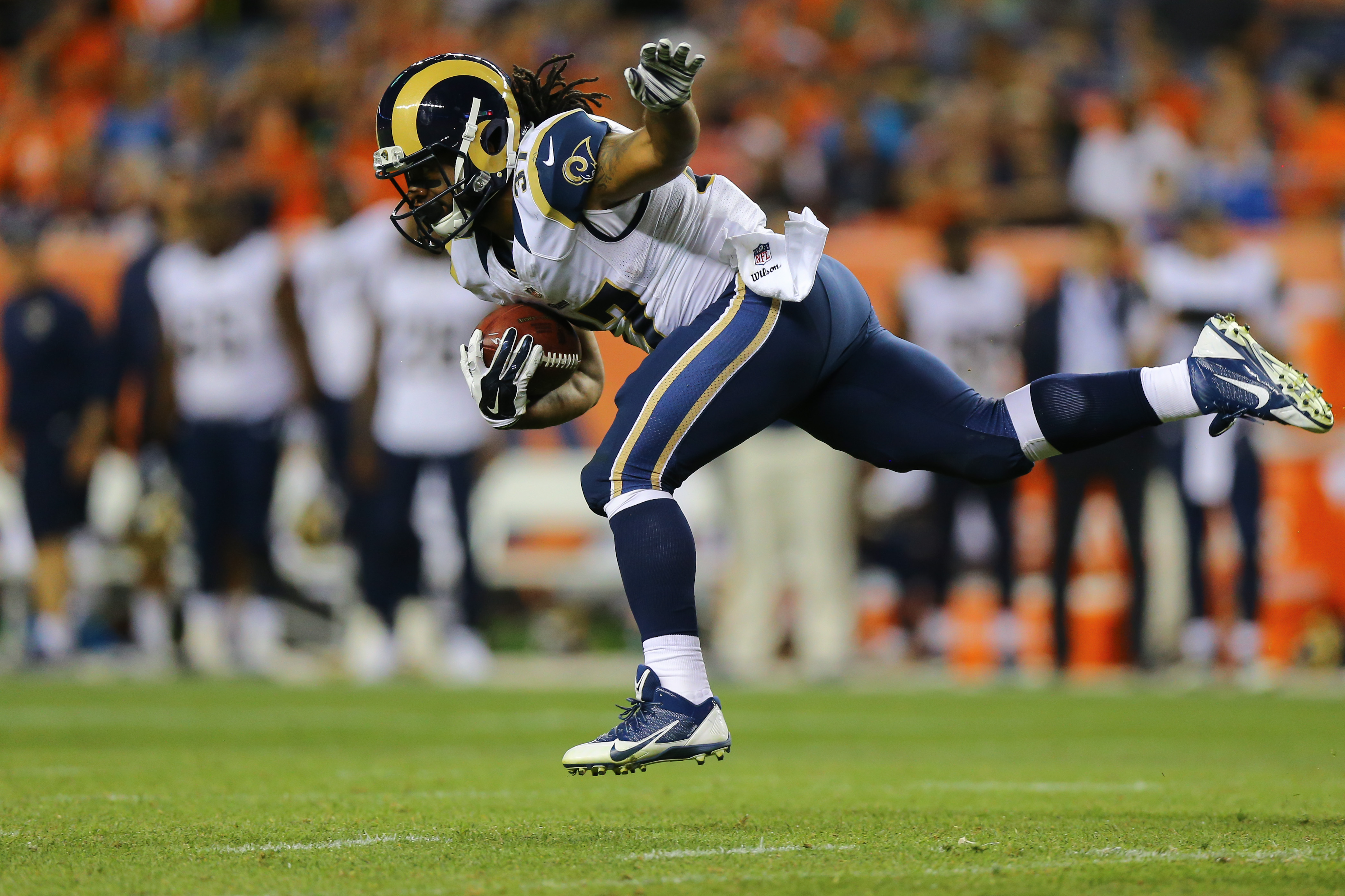 Los Angeles Rams RB Terrence Magee