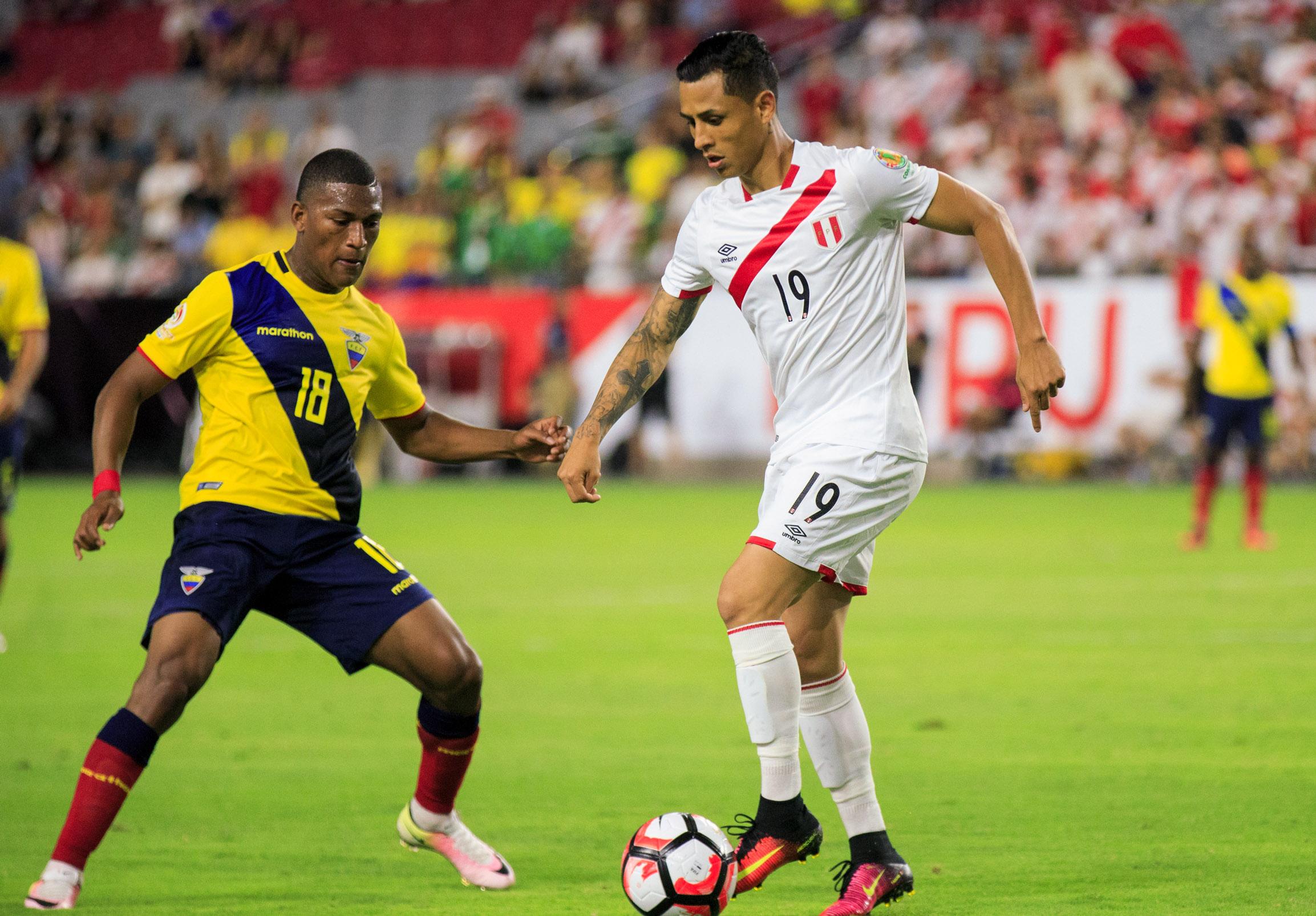 Soccer: 2016 Copa America Centenario-Ecuador  at Peru