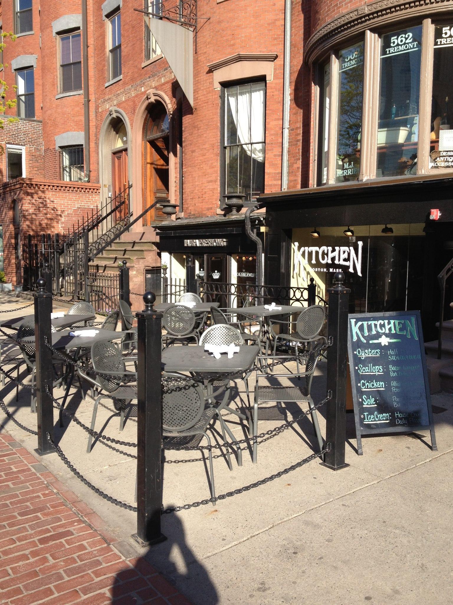 Kitchen at 560 Tremont St.