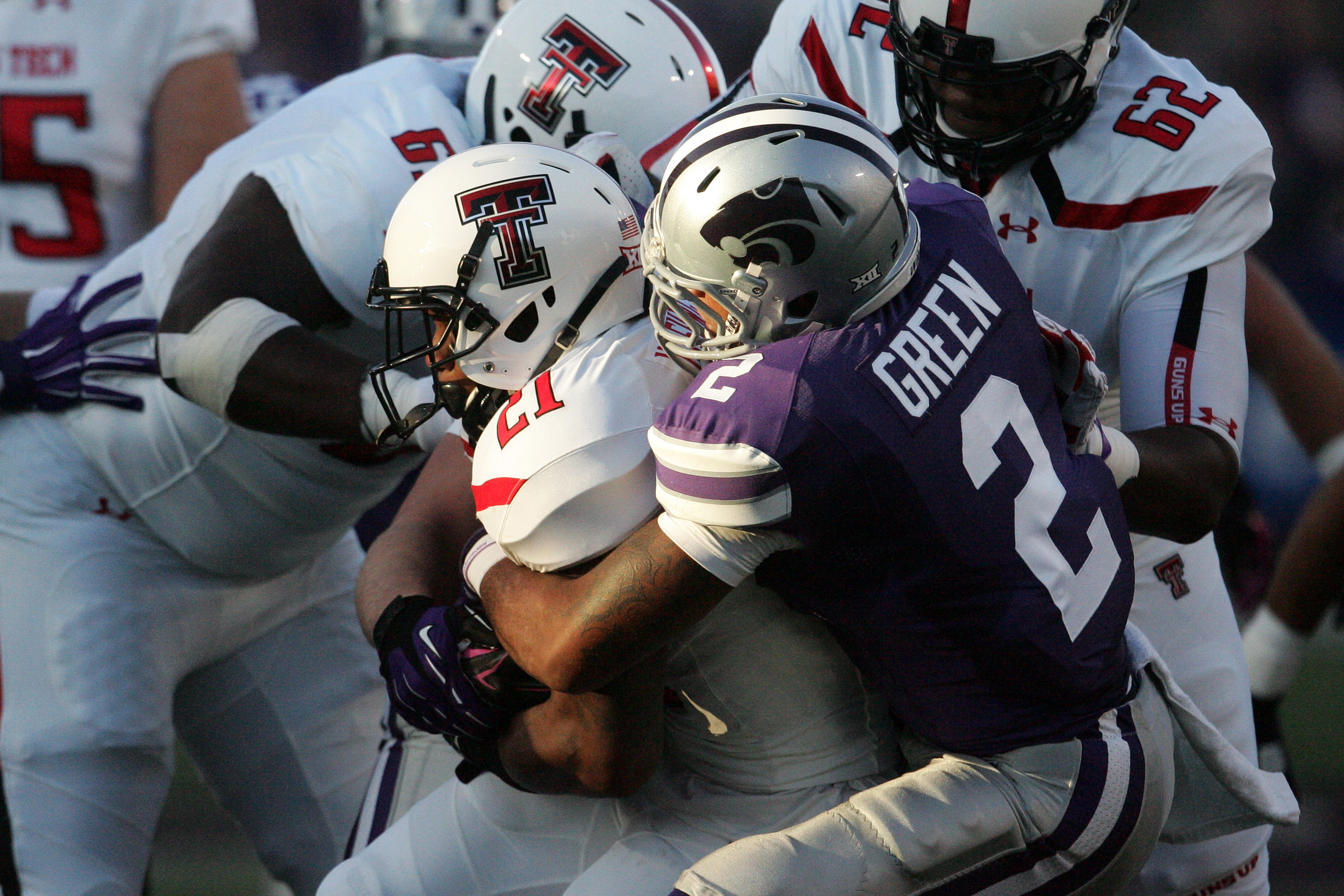 Travis Green was the last K-State defensive back to wear No. 2. But Green played safety, whereas the man stepping into that jersey, D.J. Reed, will play cornerback.