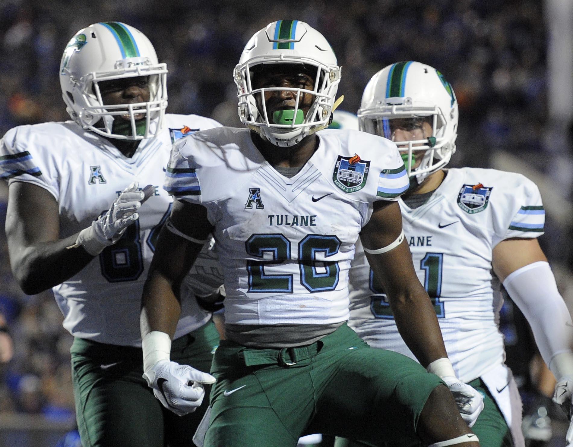 NCAA Football: Tulane at Memphis
