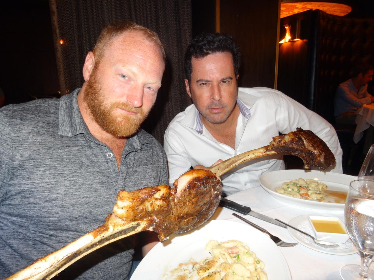 Jonathan Silverman and Mac Brandt