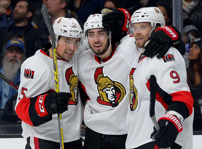 NHL: Ottawa Senators at Los Angeles Kings