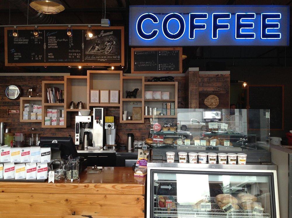 Water Avenue Coffee's Eastside cafe