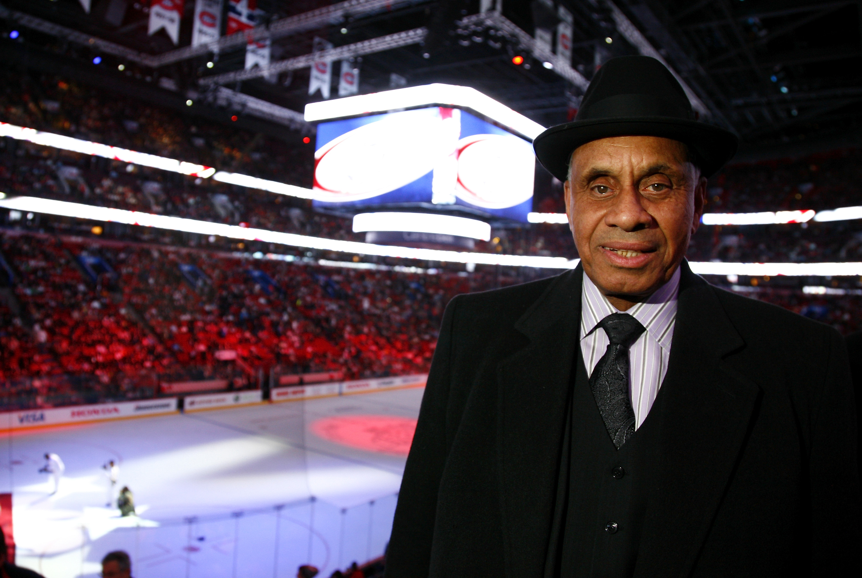 Willie O'Ree Attends NHL All Star Game