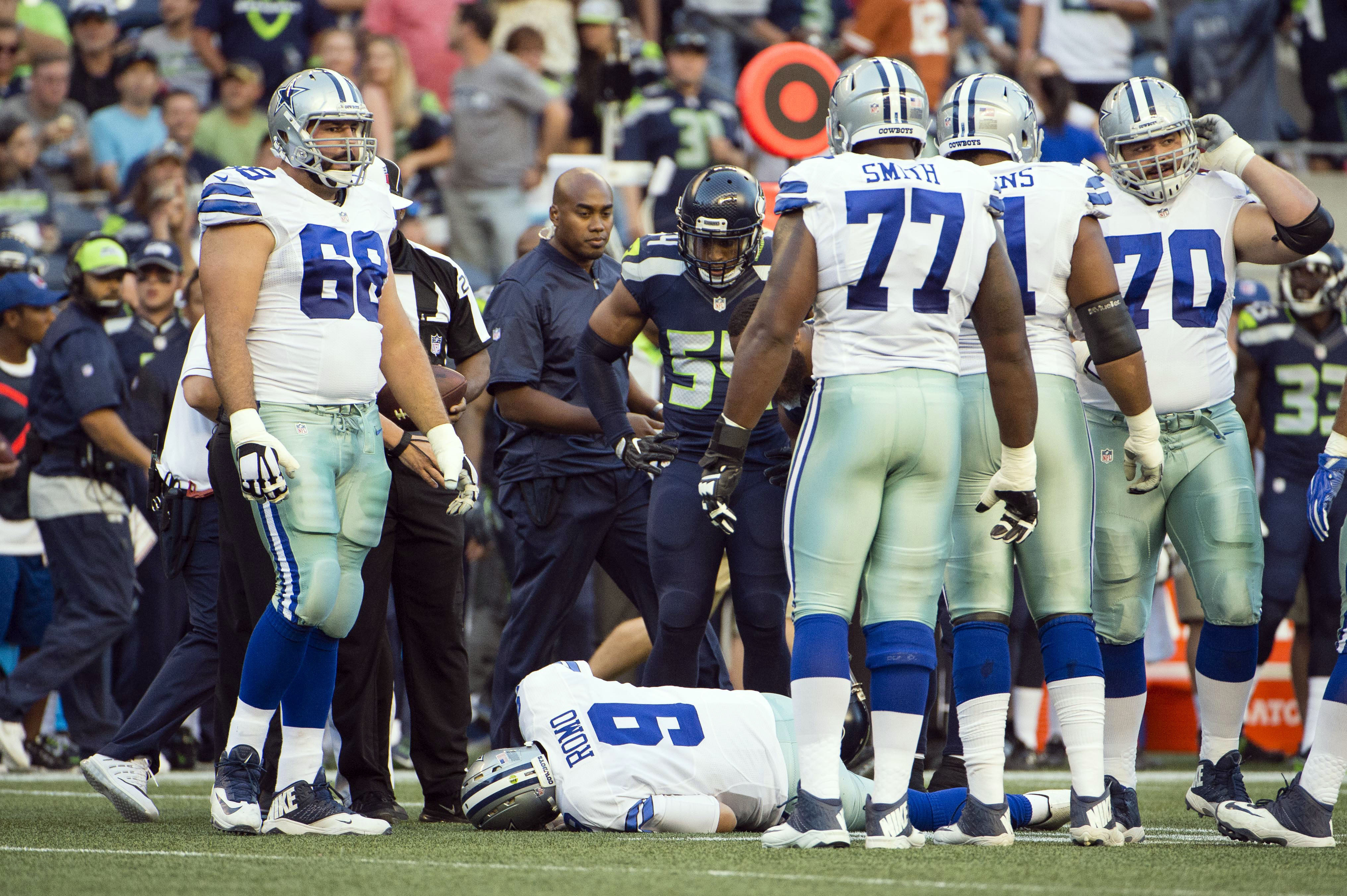 The Cowboys don't know what they're going to do with Tony Romo