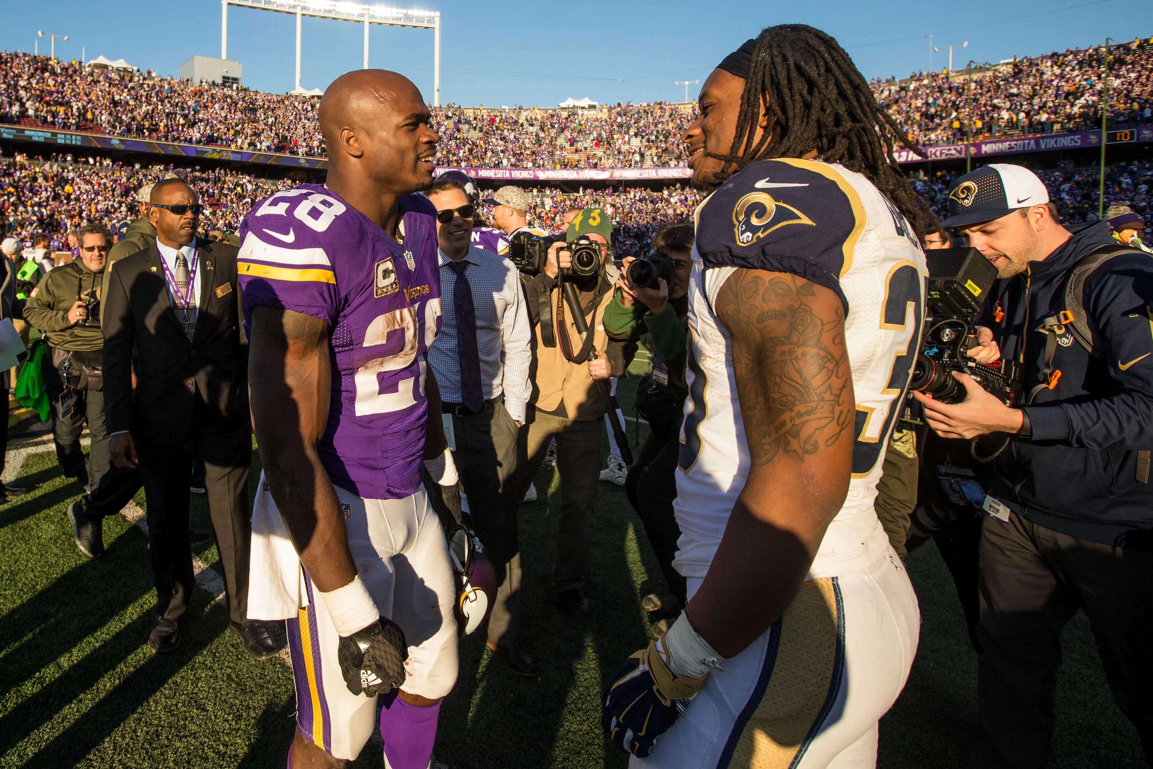 NFL: St. Louis Rams at Minnesota Vikings
