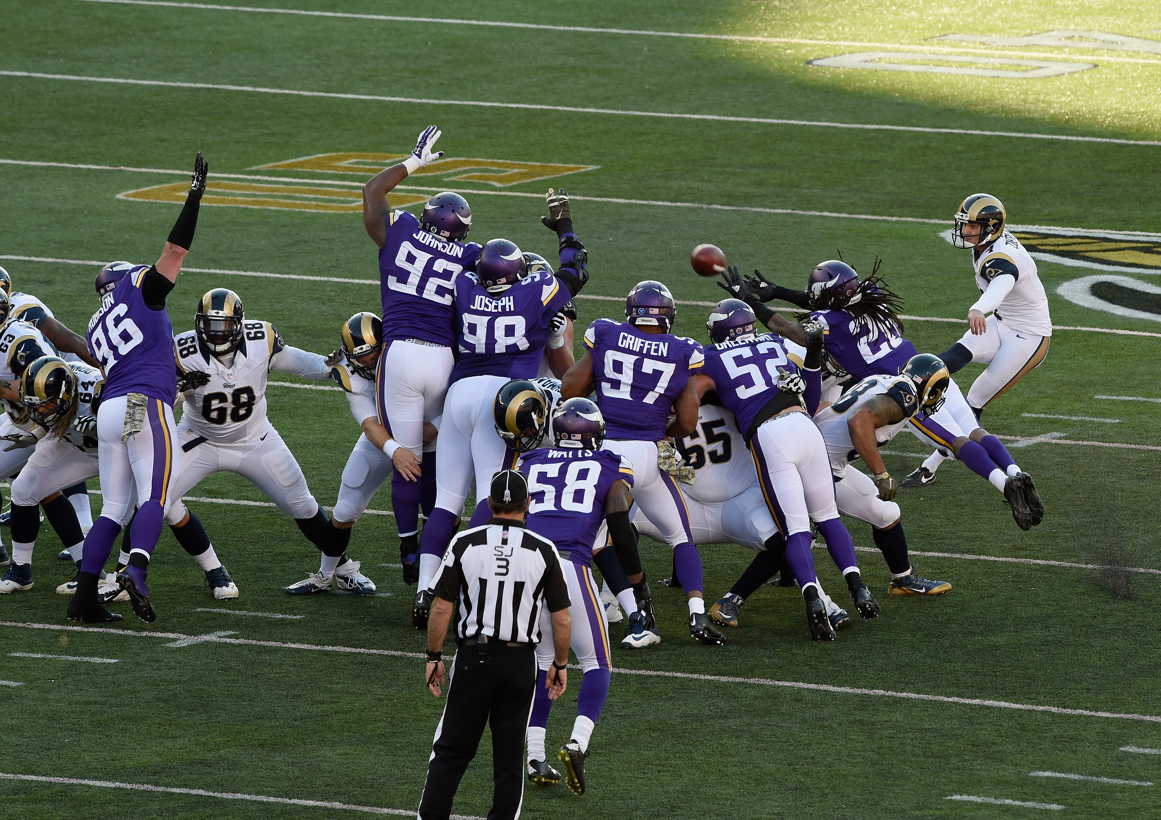 2015 St. Louis Rams at Minnesota Vikings